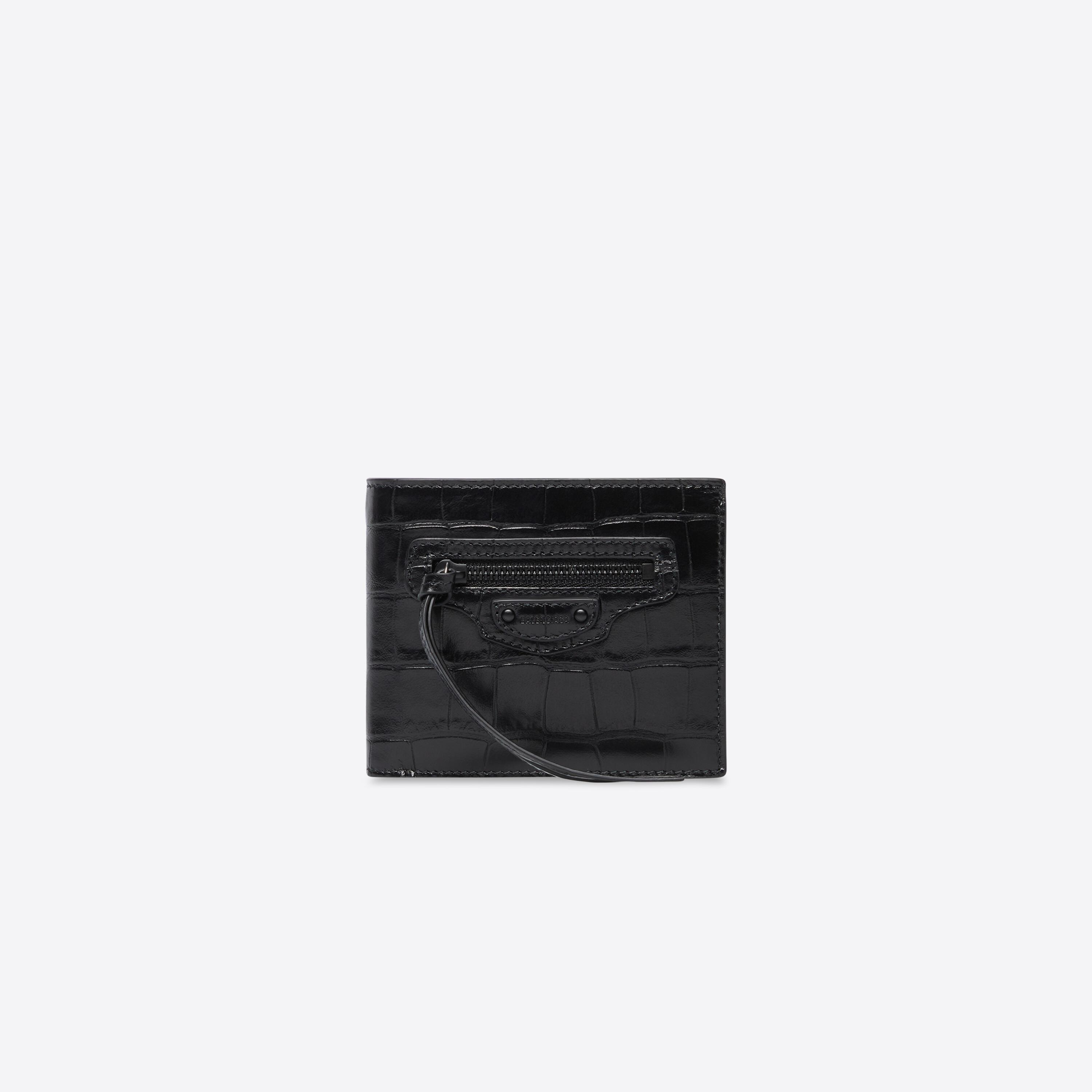 Neo Classic Square Fold Coin Wallet