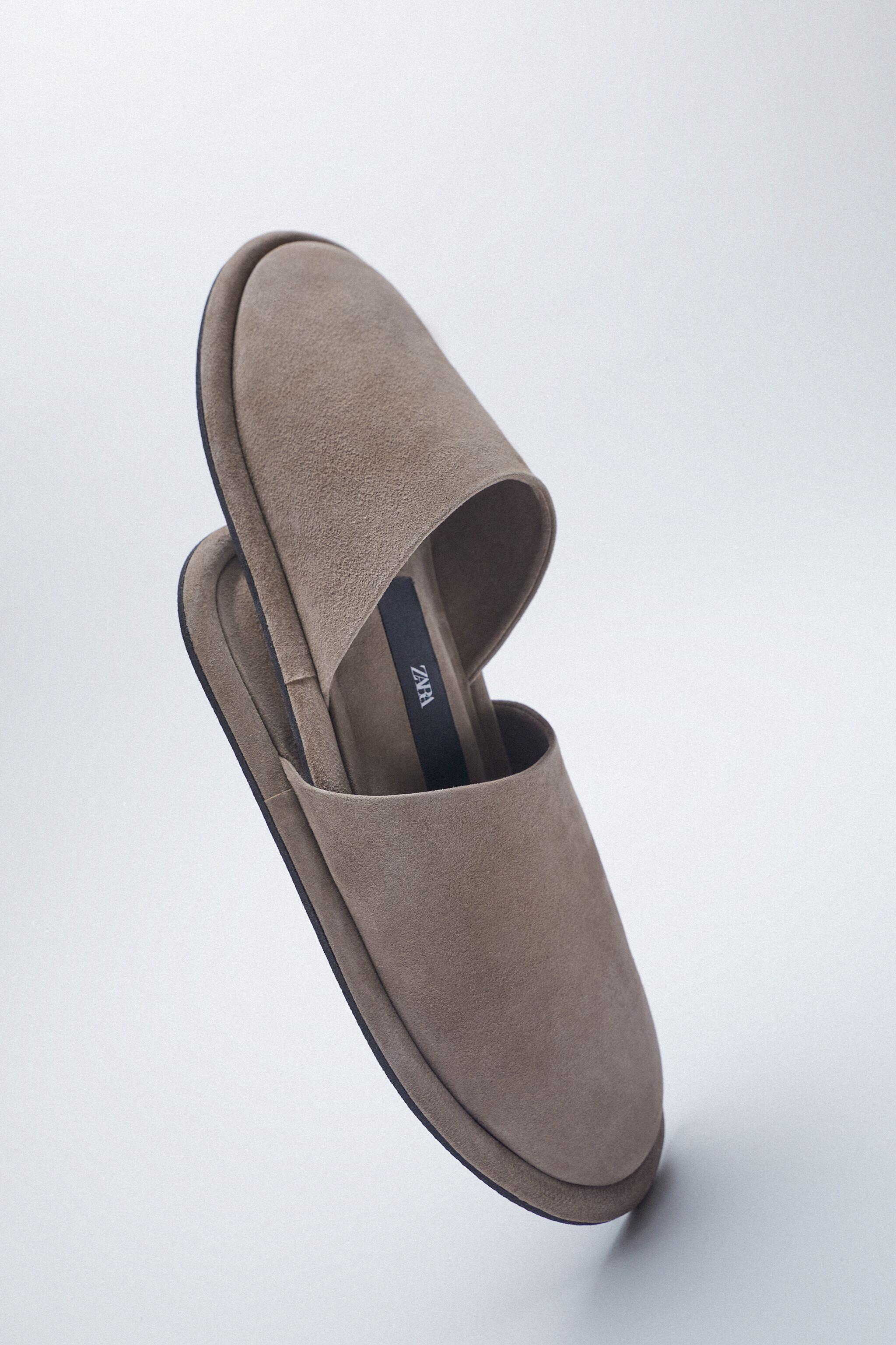 FLAT SOFT LEATHER SHOES 4