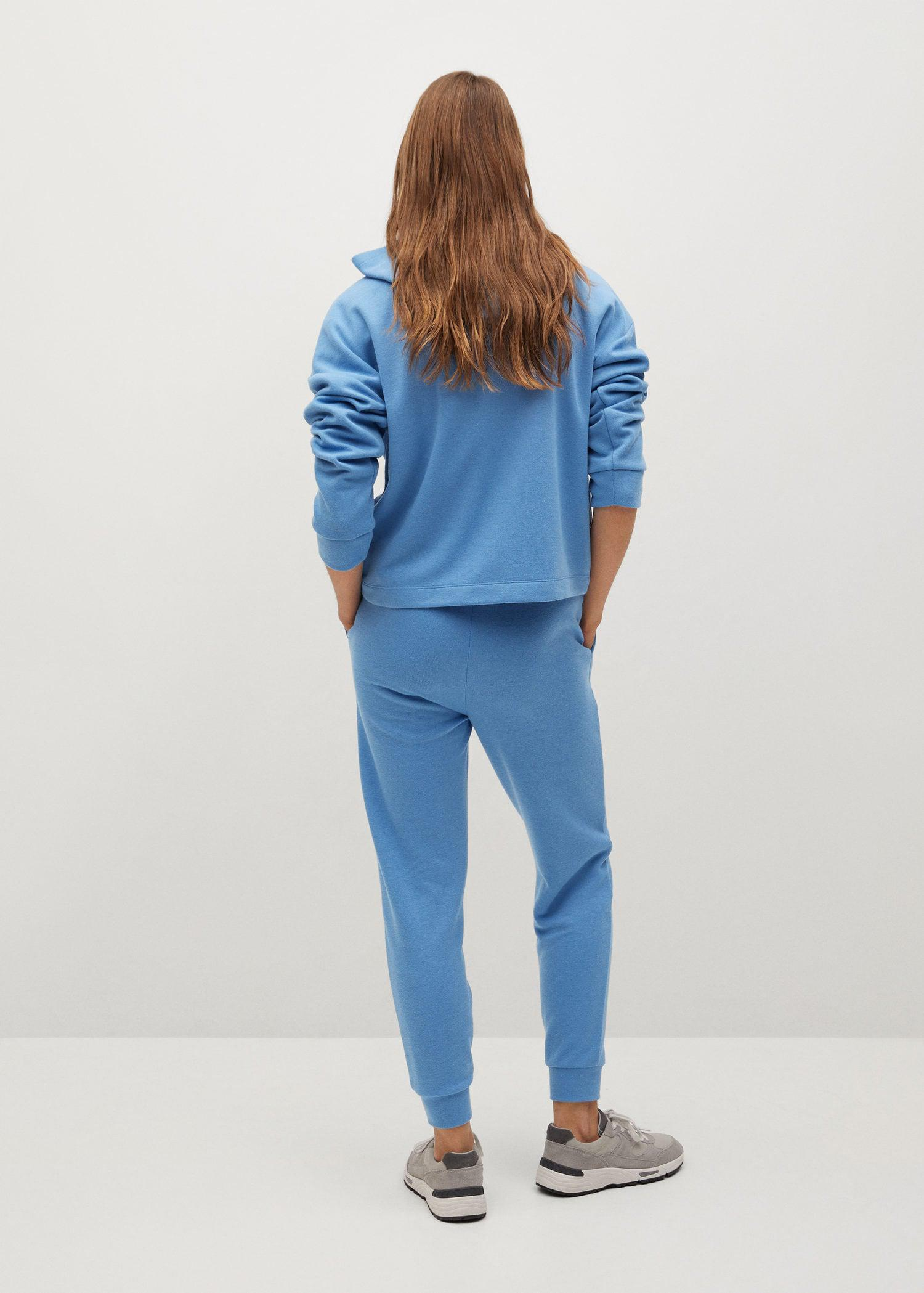 Knit jogger-style trousers 2