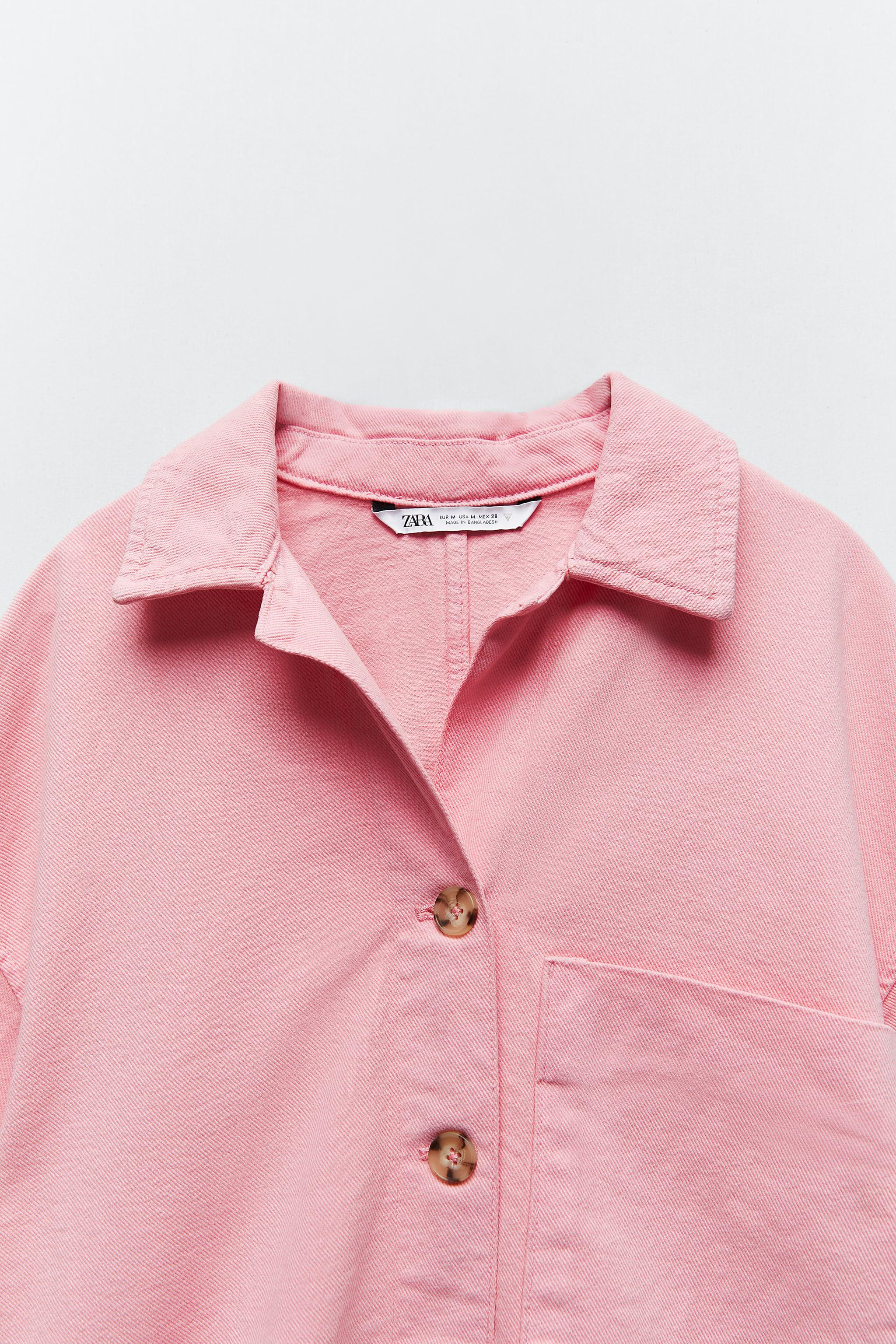 SOLID COLOR OVERSHIRT 3