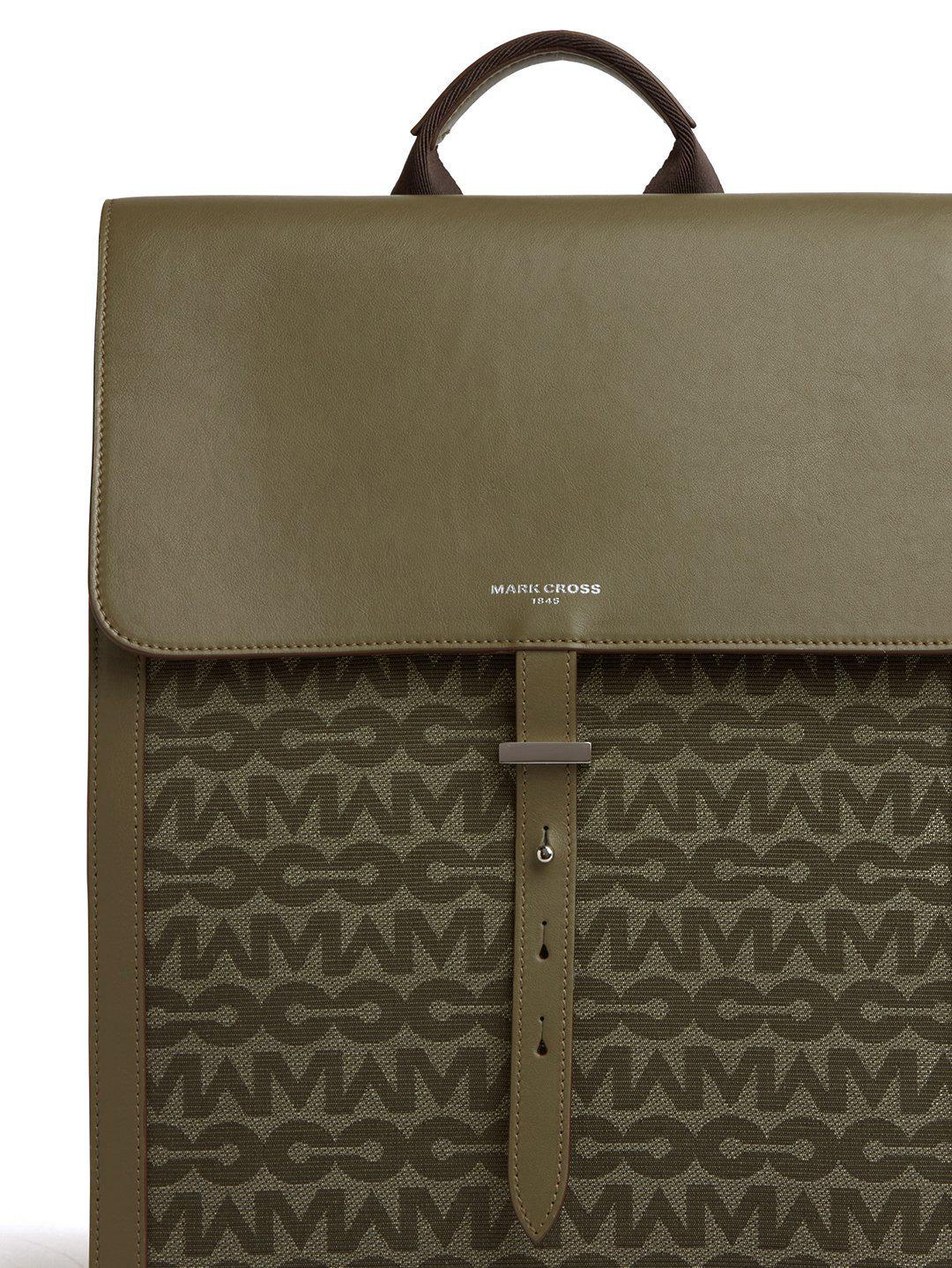 Andy MC Jacquard & Leather Backpack 5