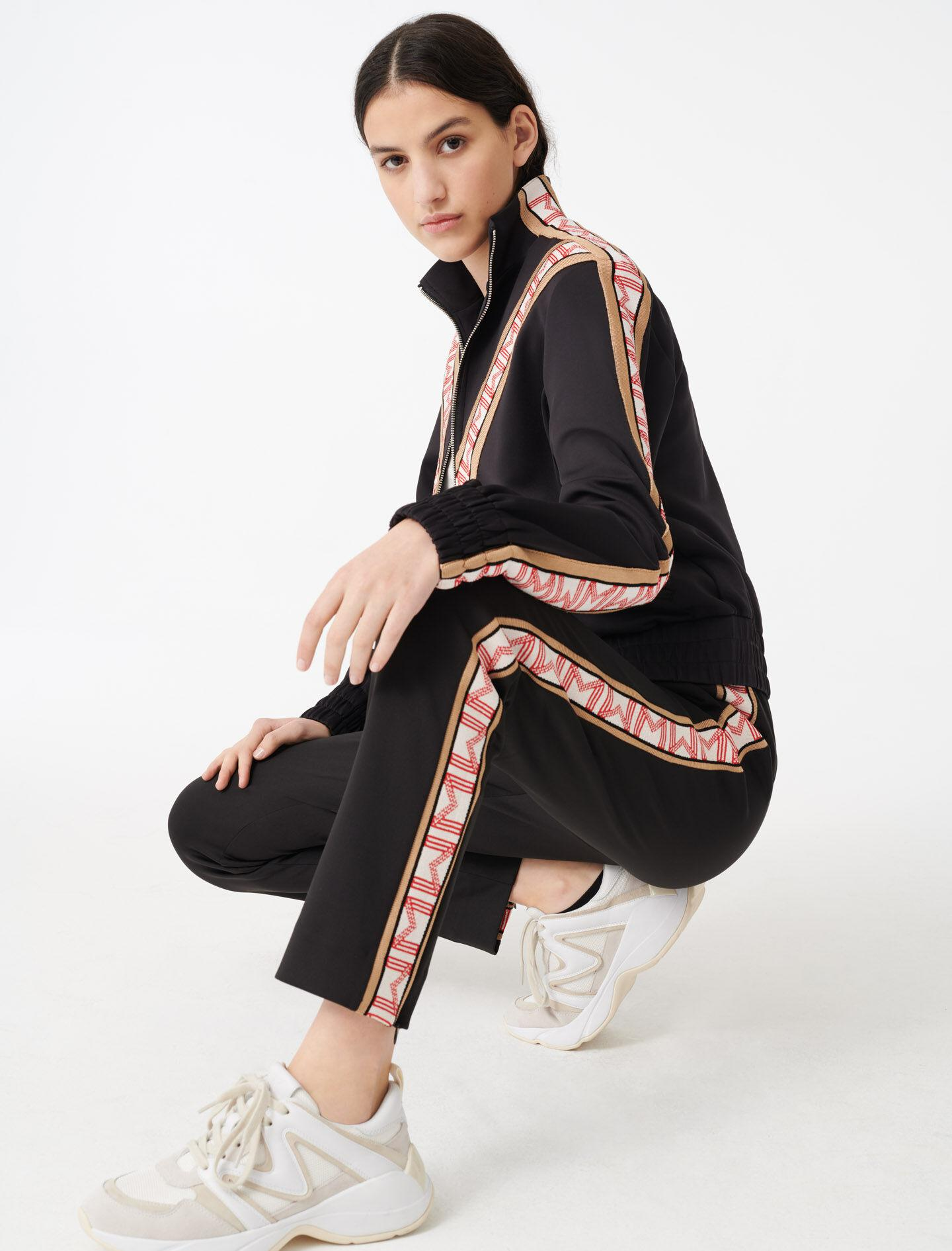 TRACKSUIT BOTTOMS WITH BANDS 1