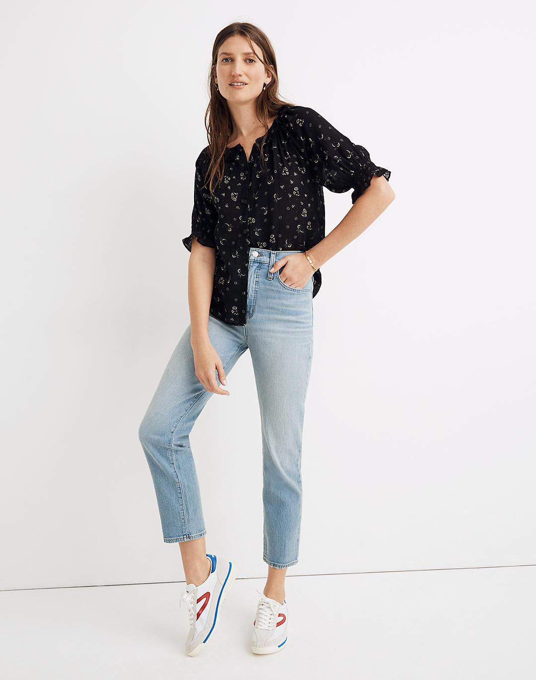 Petite Jeans in Meadowland Wash