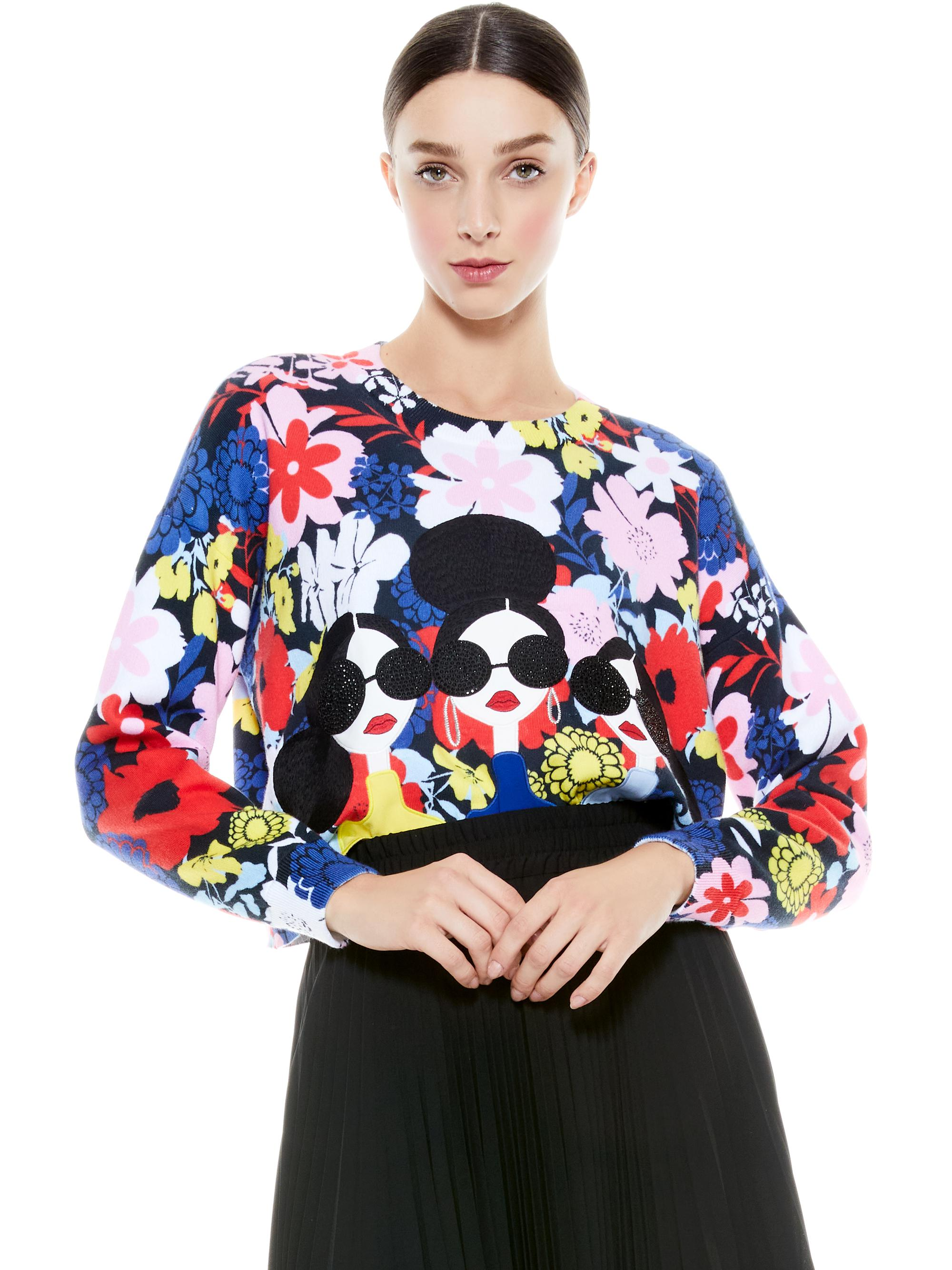 NYLA STACEFACE PULLOVER