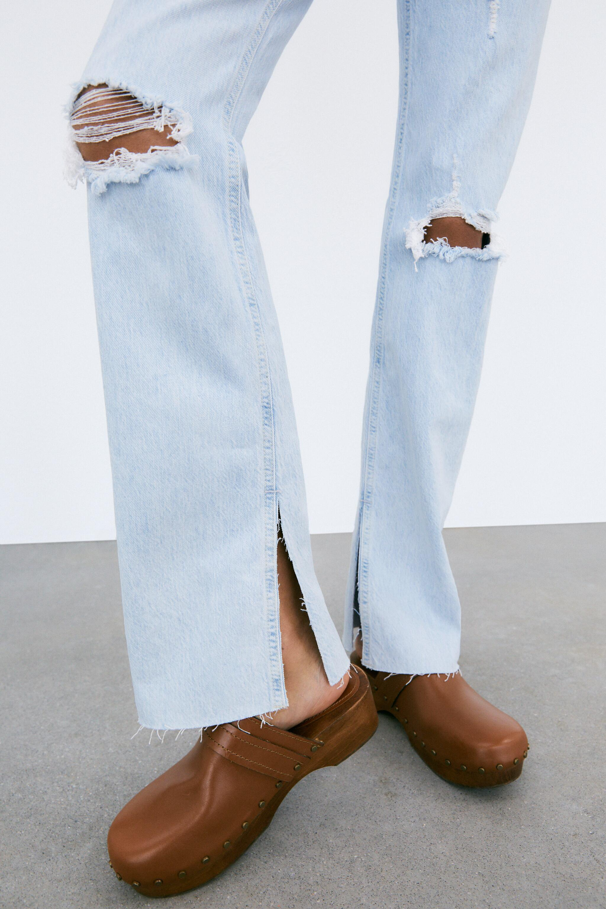 Z1975 FLARED RIPPED SLIM FIT JEANS 3