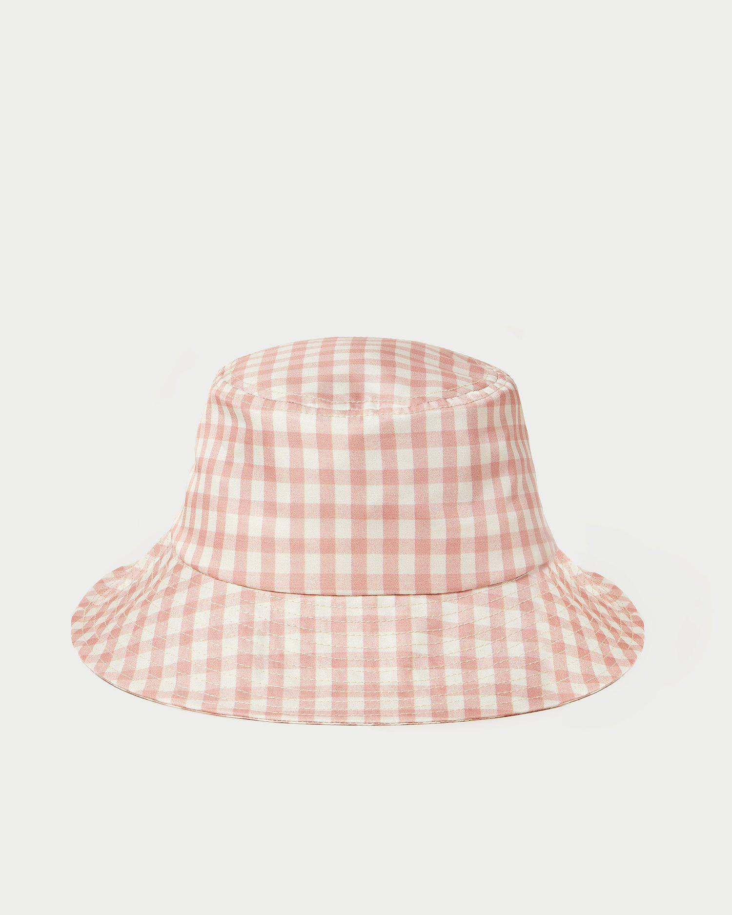 Ivy Clay Gingham Bucket Hat
