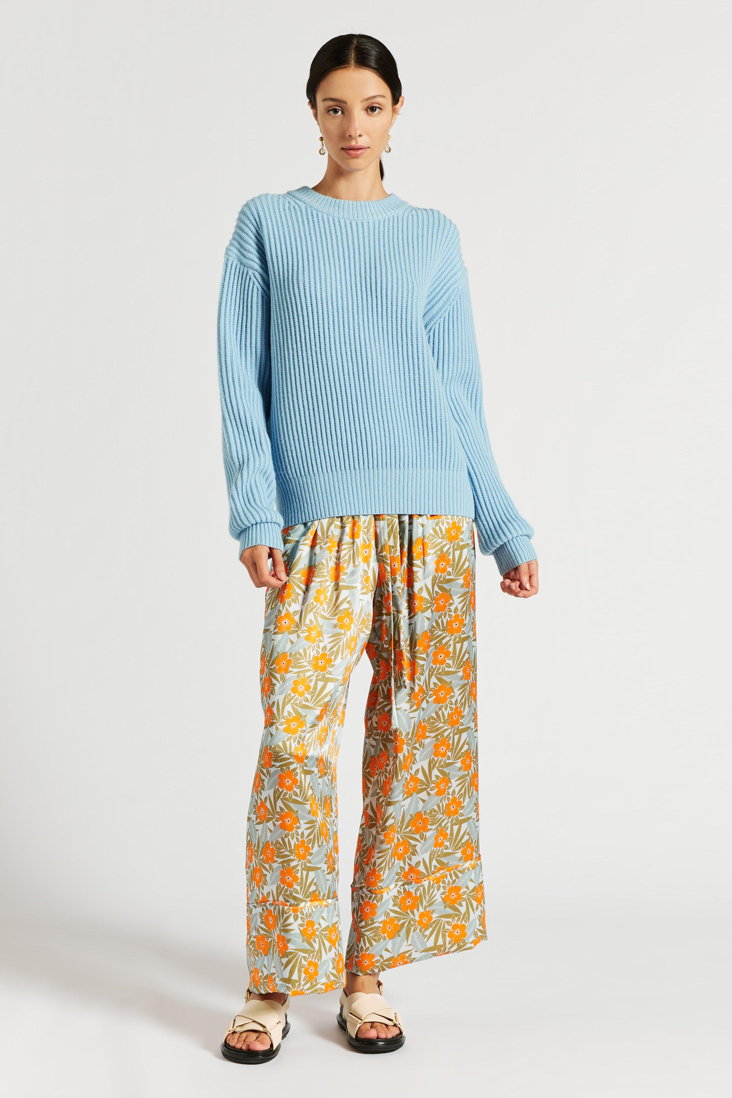 Florence Chunky Crew Neck Knit