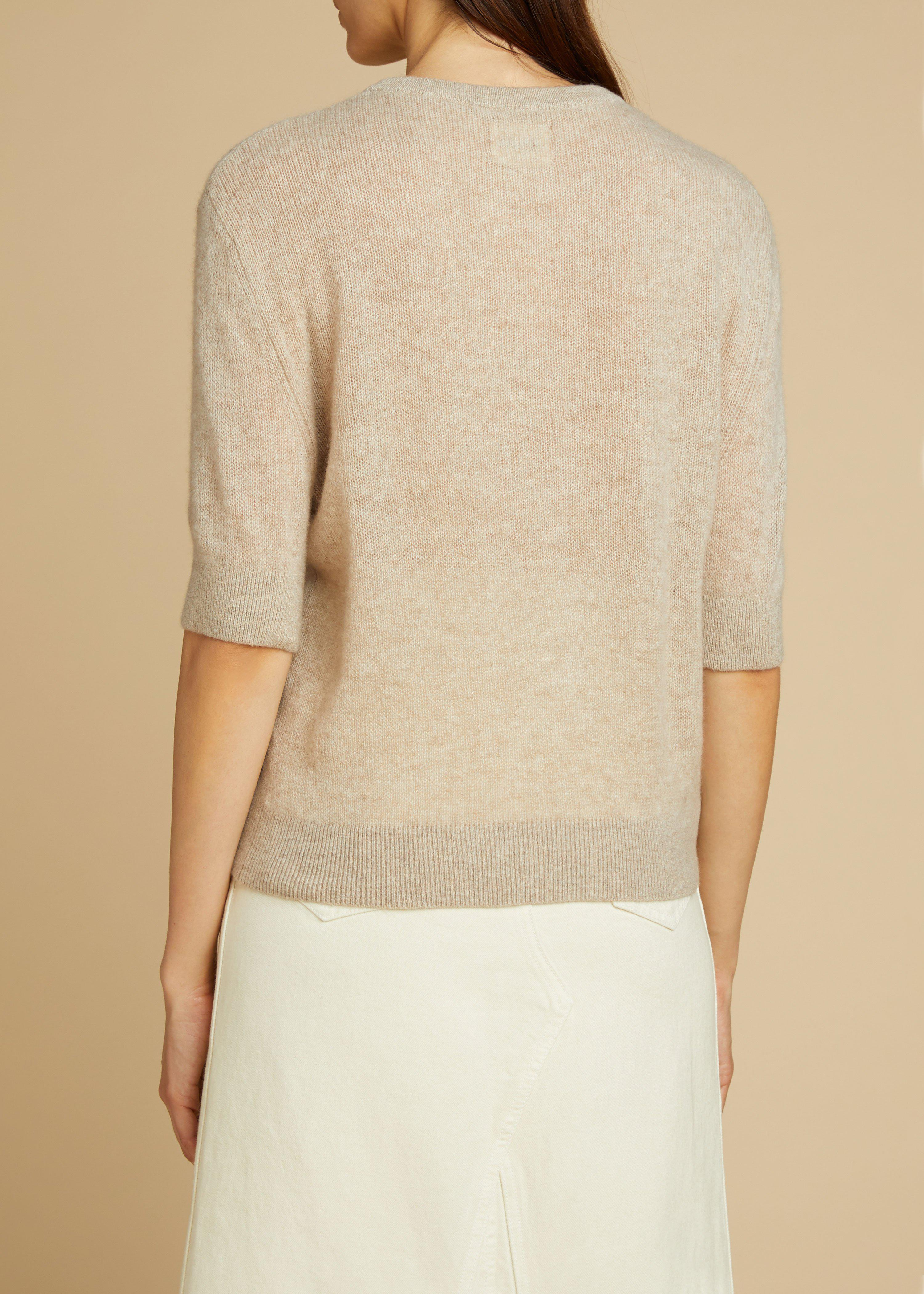 The Dianna Sweater in Powder 2