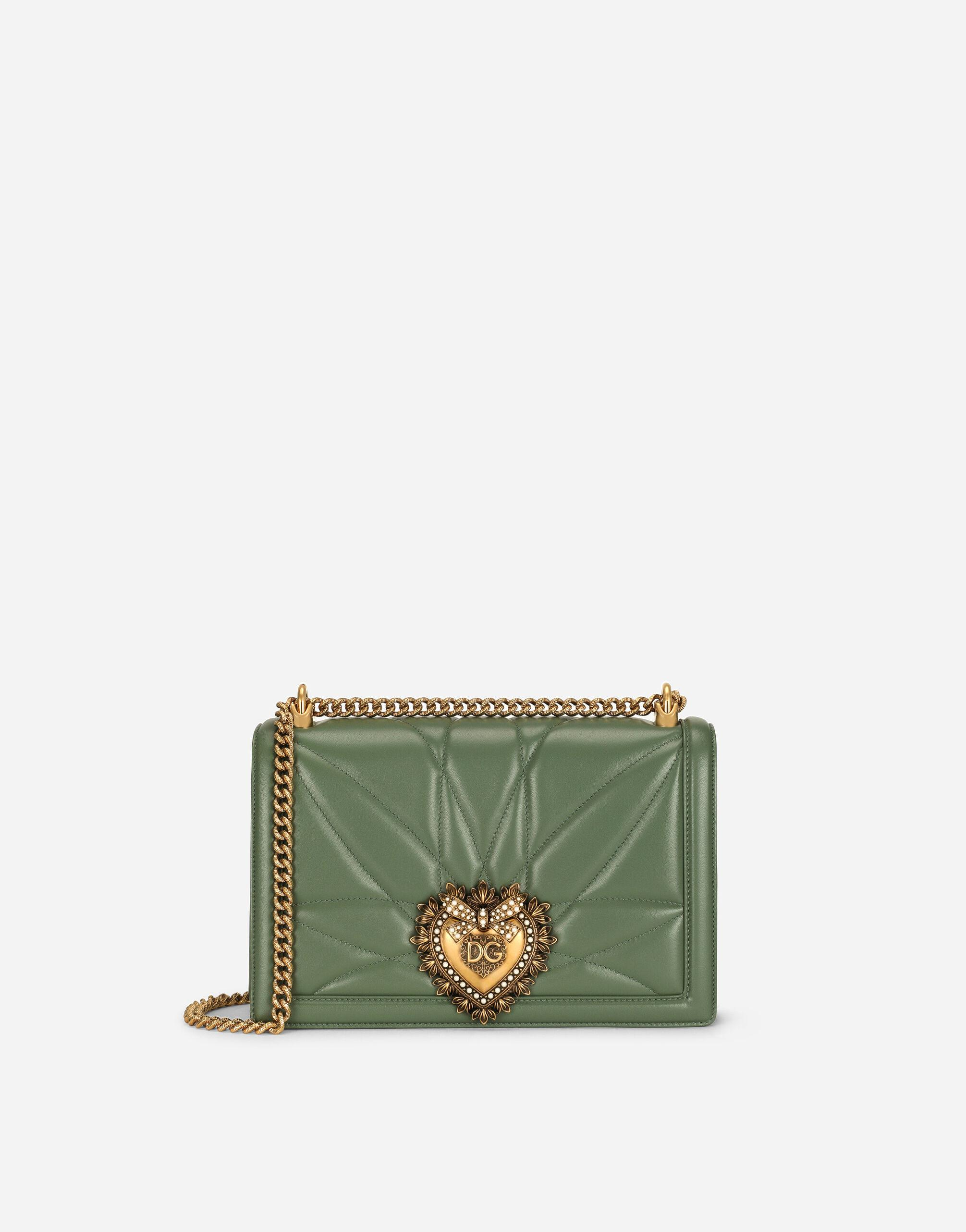 Large Devotion crossbody bag in quilted nappa leather
