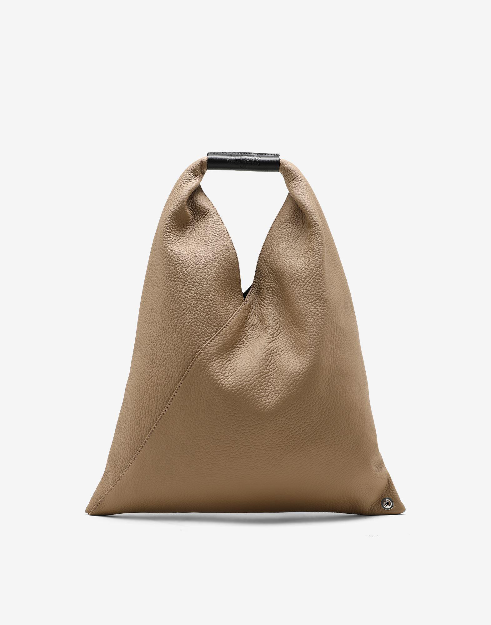 Small Japanese grainy leather bag
