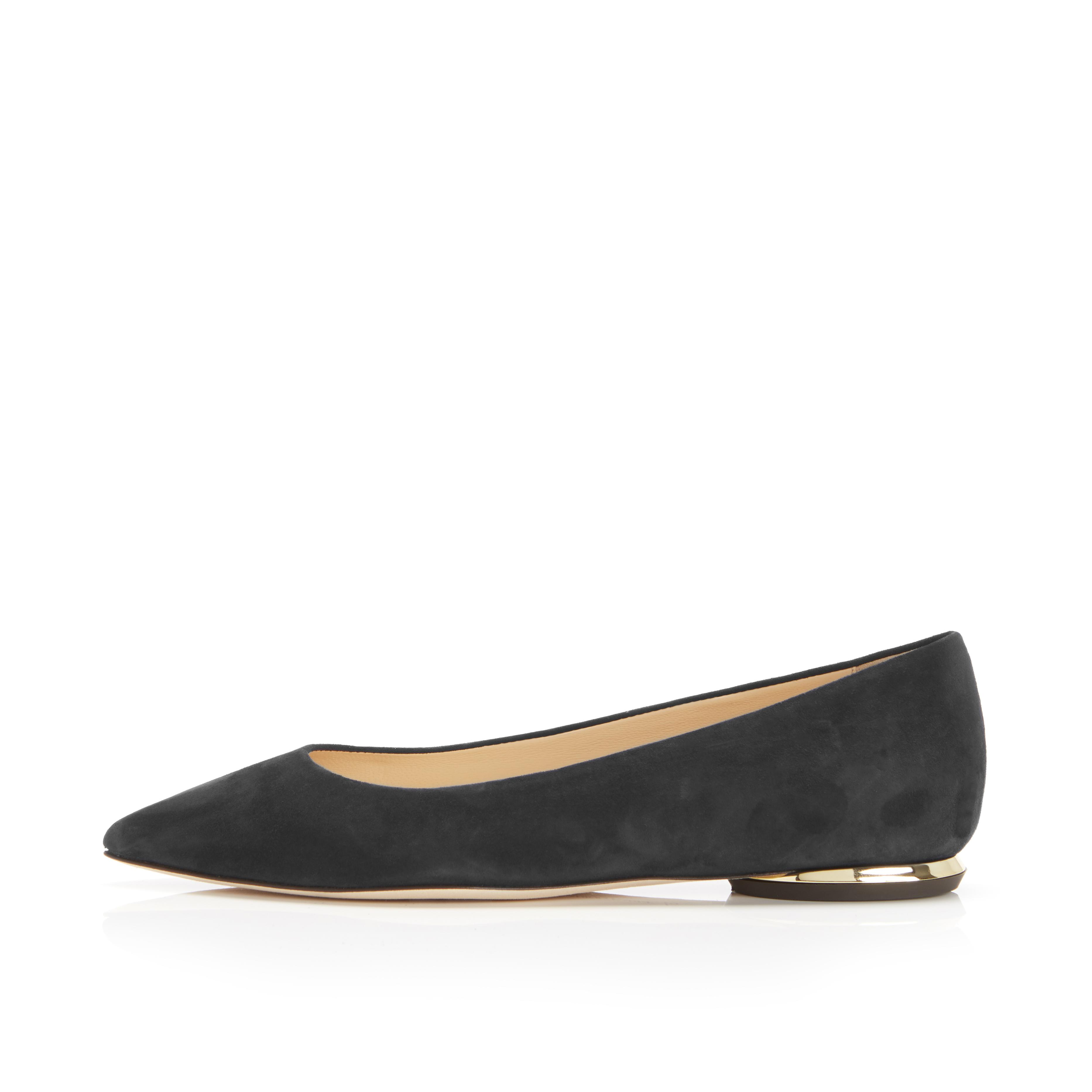 Must Have Flat | Suede Classic Pointy Toe Flat