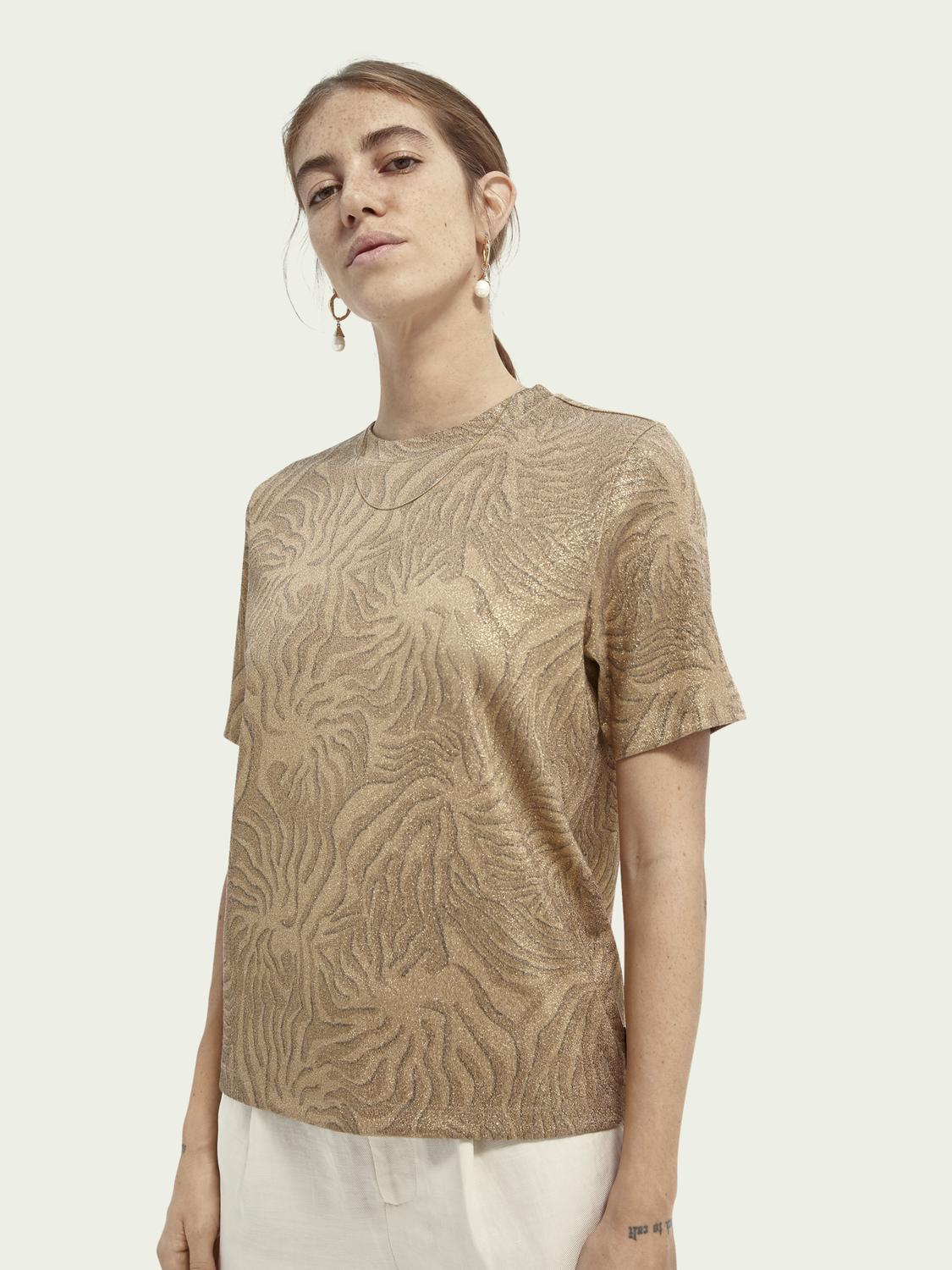 Printed relaxed-fit T-shirt