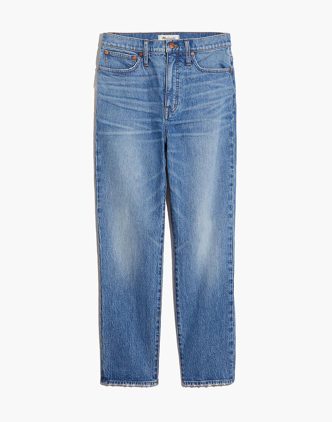Petite Classic Straight Jeans in Nearwood Wash 4