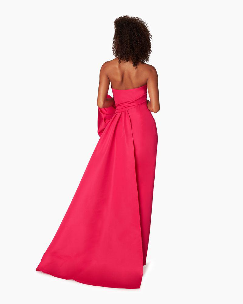 Strapless Gown With Side Drape 1