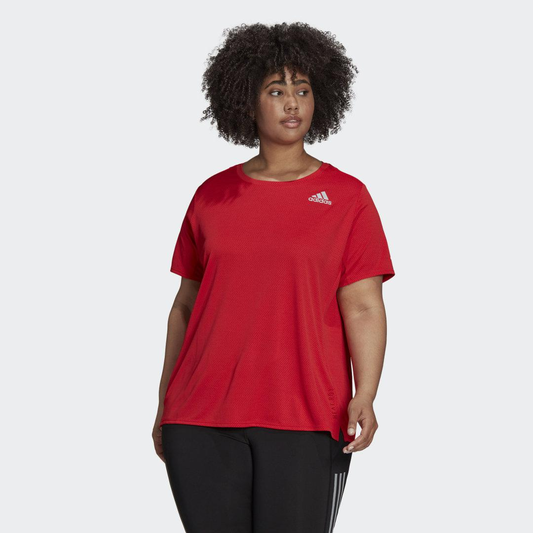 HEAT.RDY Tee (Plus Size) Red
