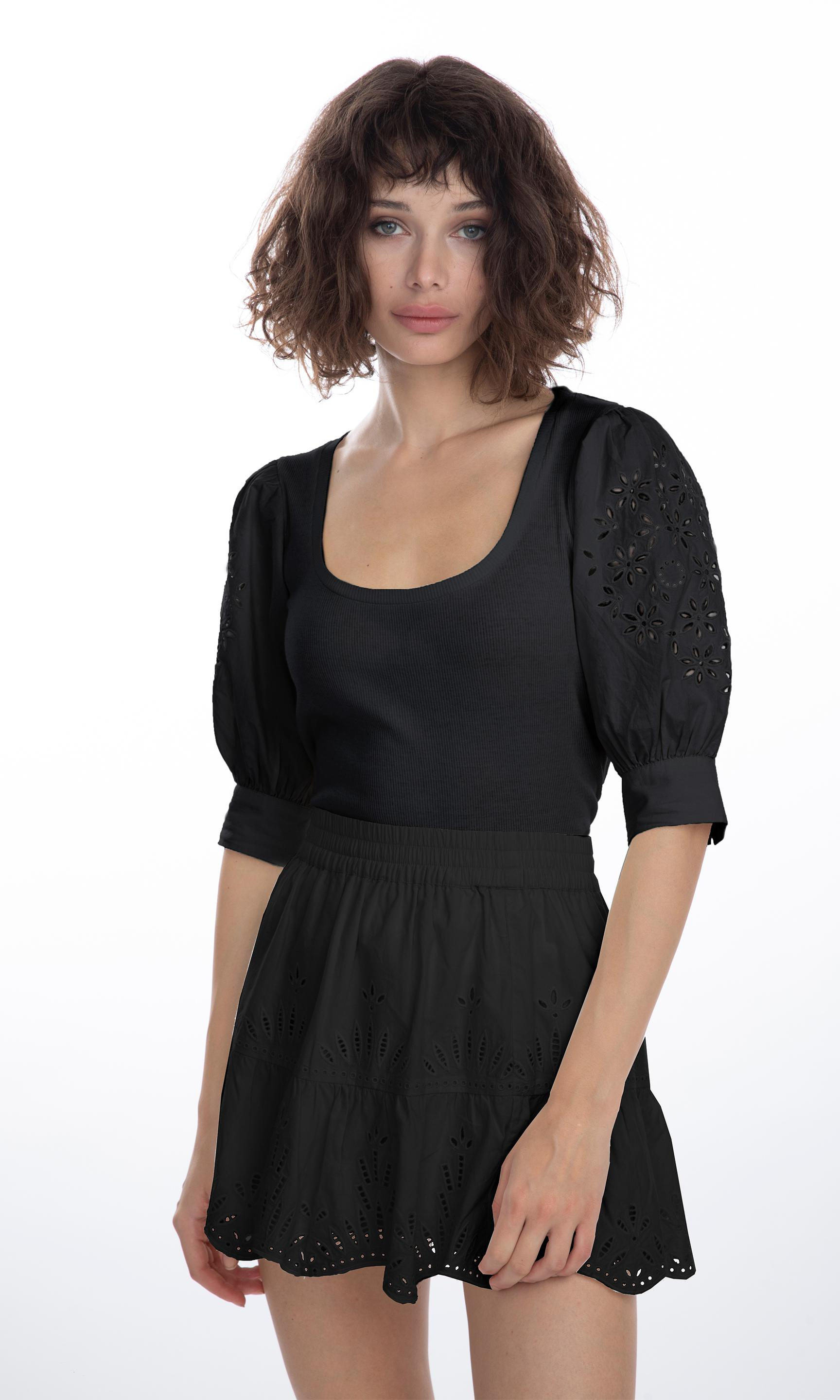 Liv Embroidered Top