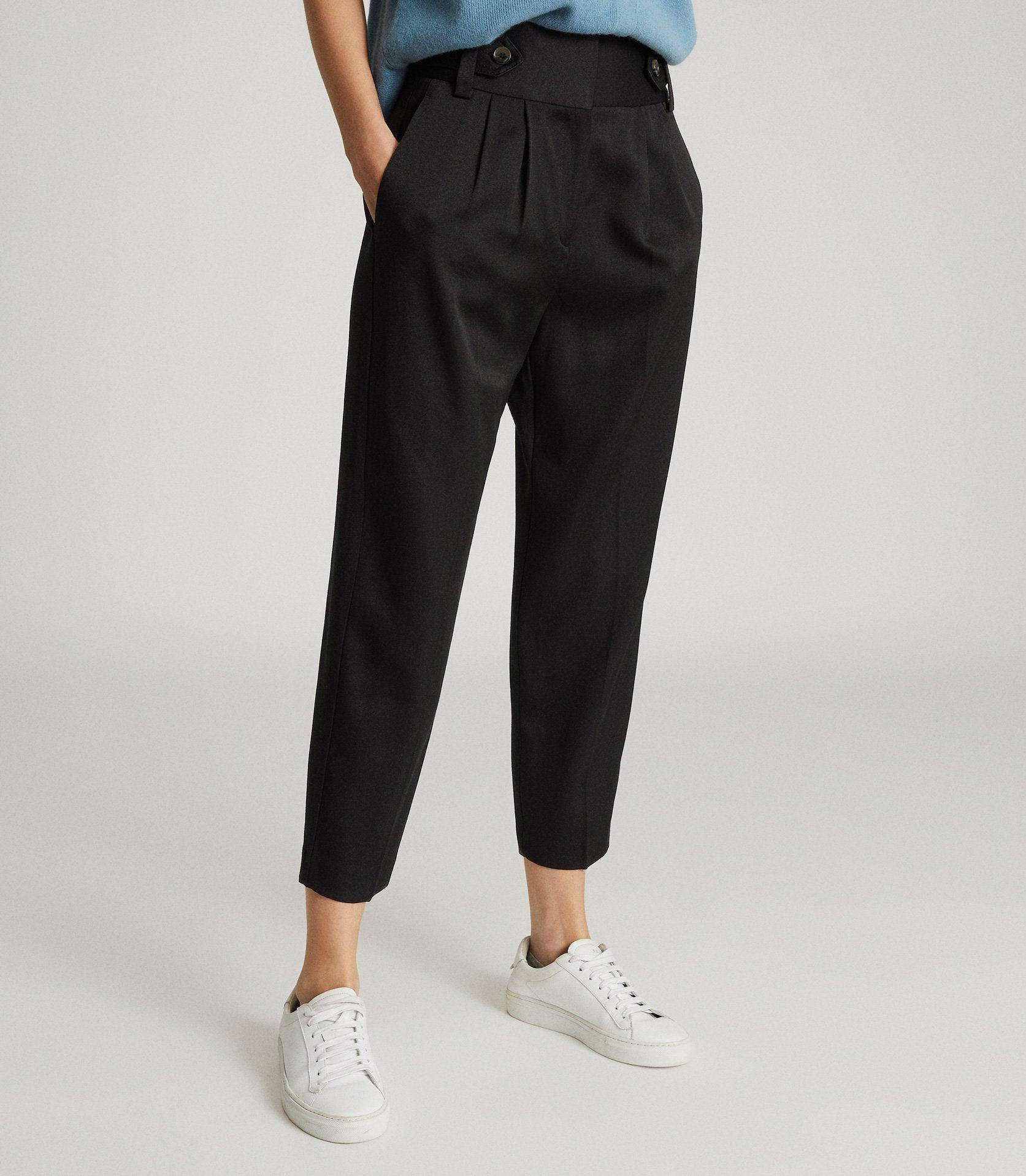STANTON - CROPPED TAPERED PANTS 1