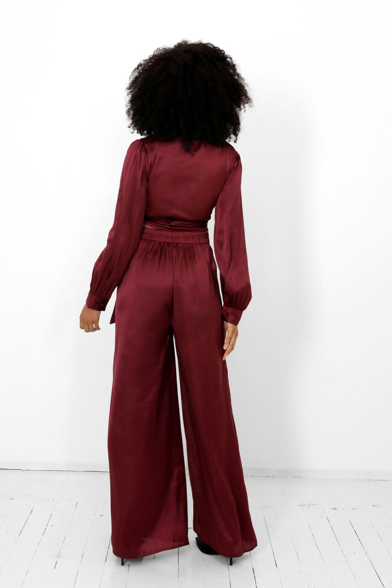 Rooibos Isa Wrap Top and Dora Pants Two Piece Set 3
