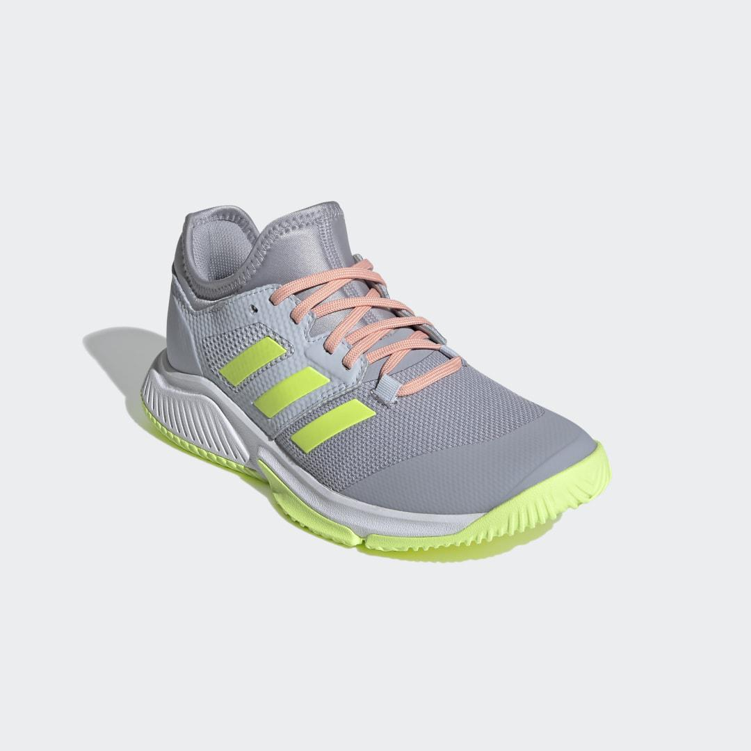 Court Team Bounce Indoor Shoes Halo Silver