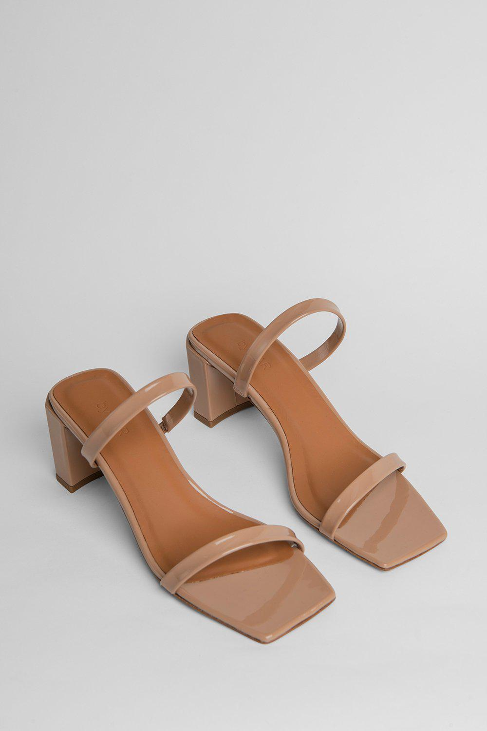 Tanya Nude Patent Leather 1