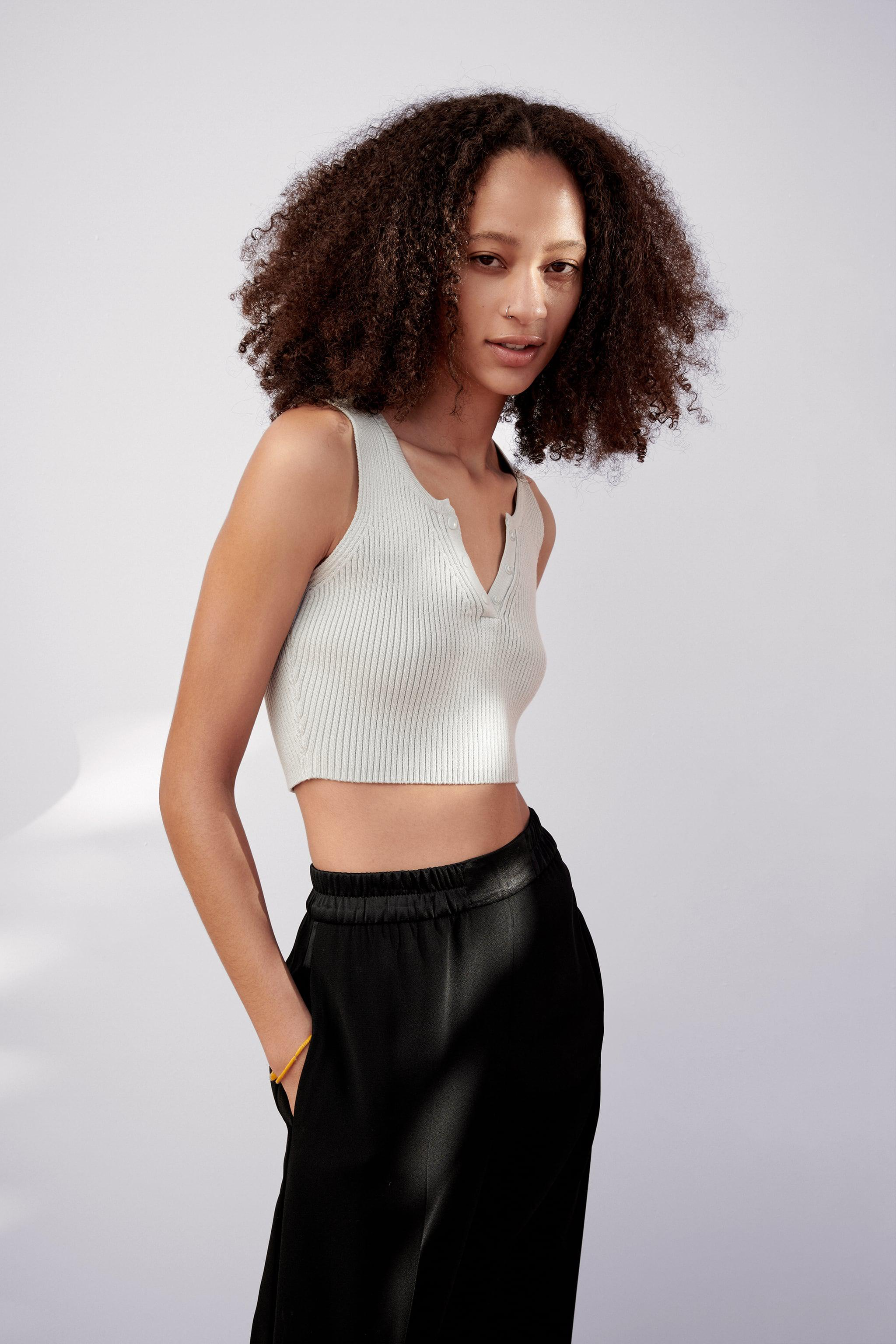CROPPED KNIT TOP 3