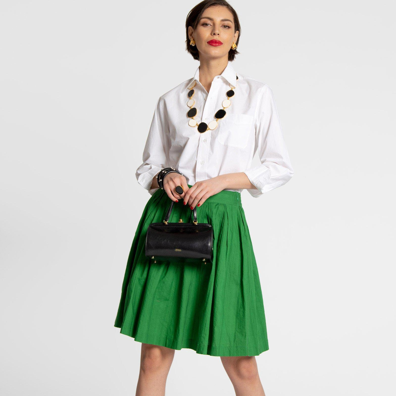 Claire Skirt Green 1