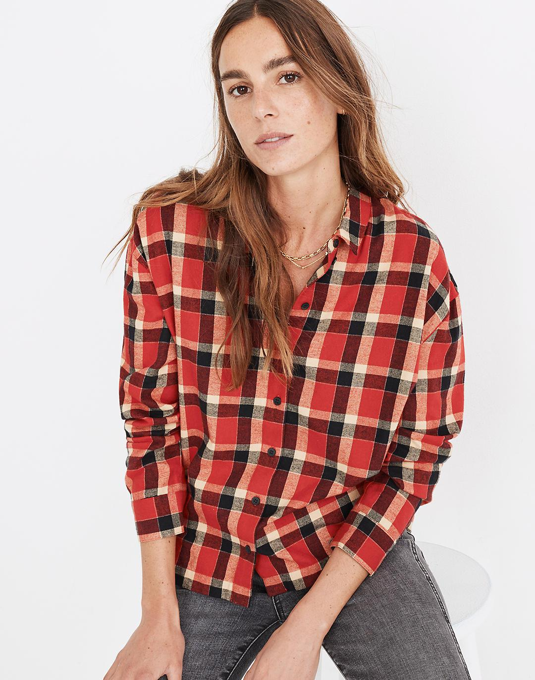 Flannel Westlake Shirt in Newfield Plaid