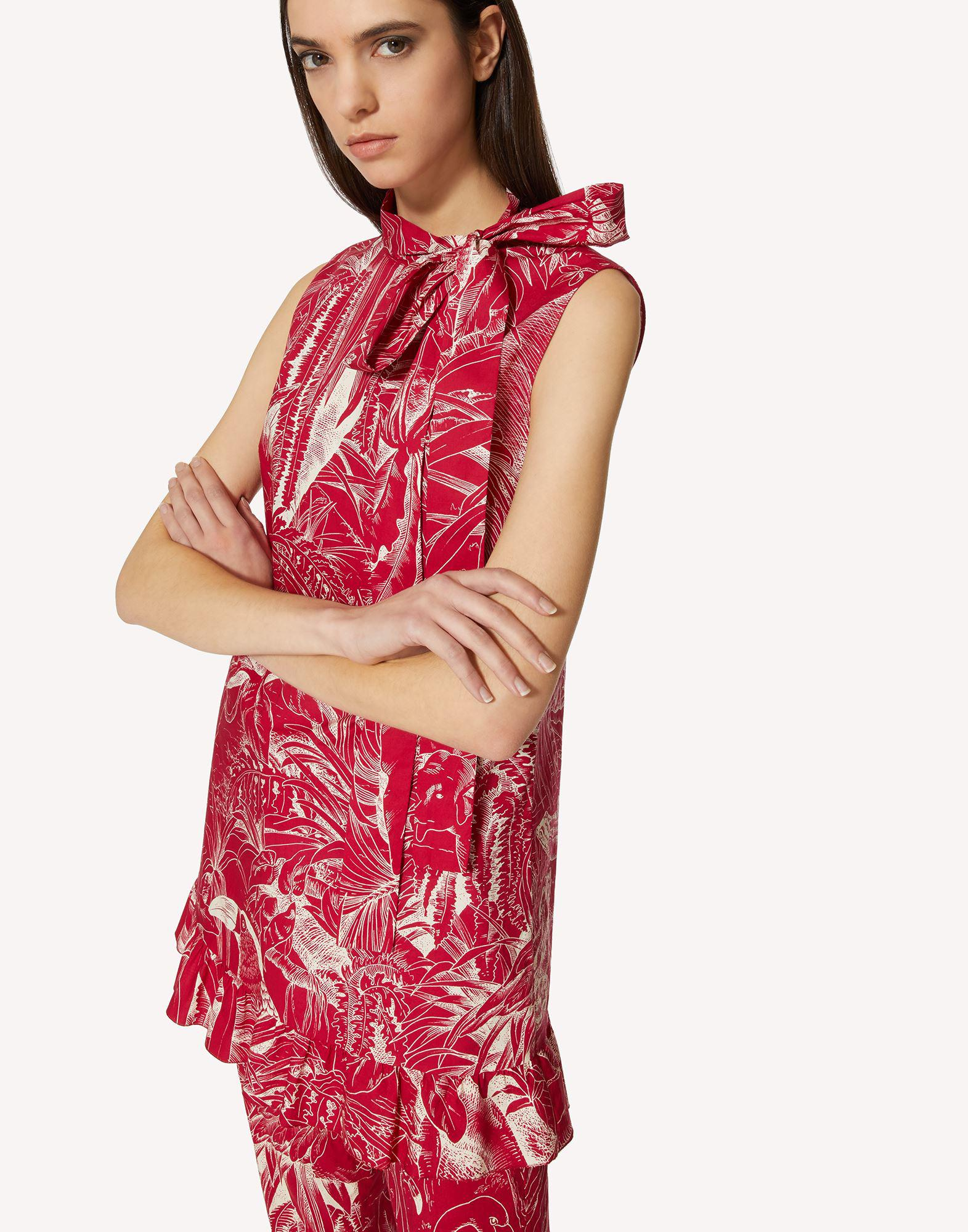 COTTON TOP WITH JUNGLE TOILE PRINT 3
