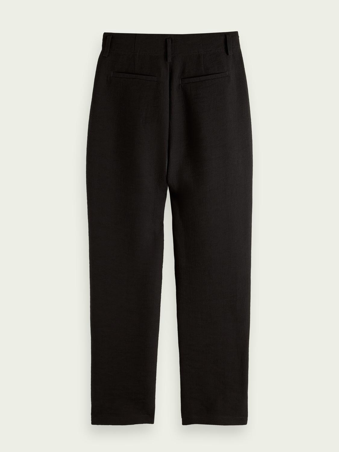 High rise tapered trousers 6