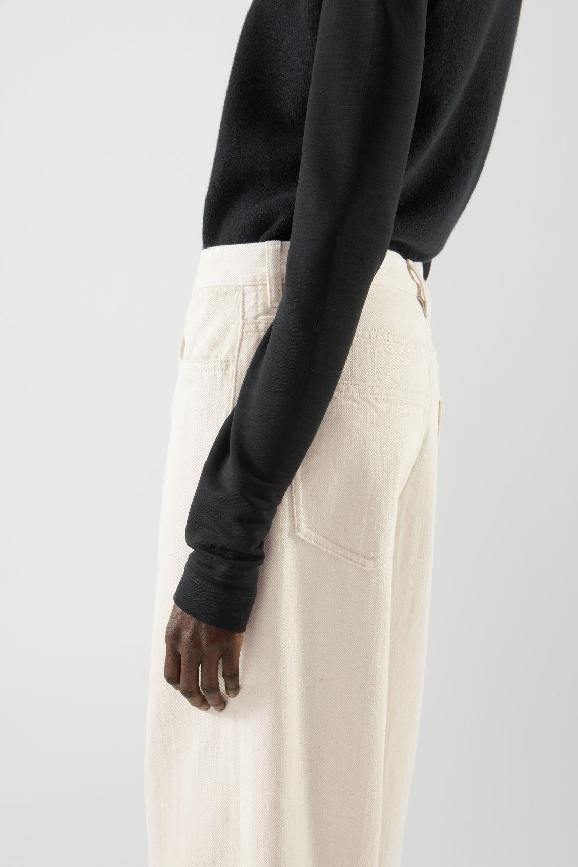 STRAIGHT MID-RISE JEANS 4