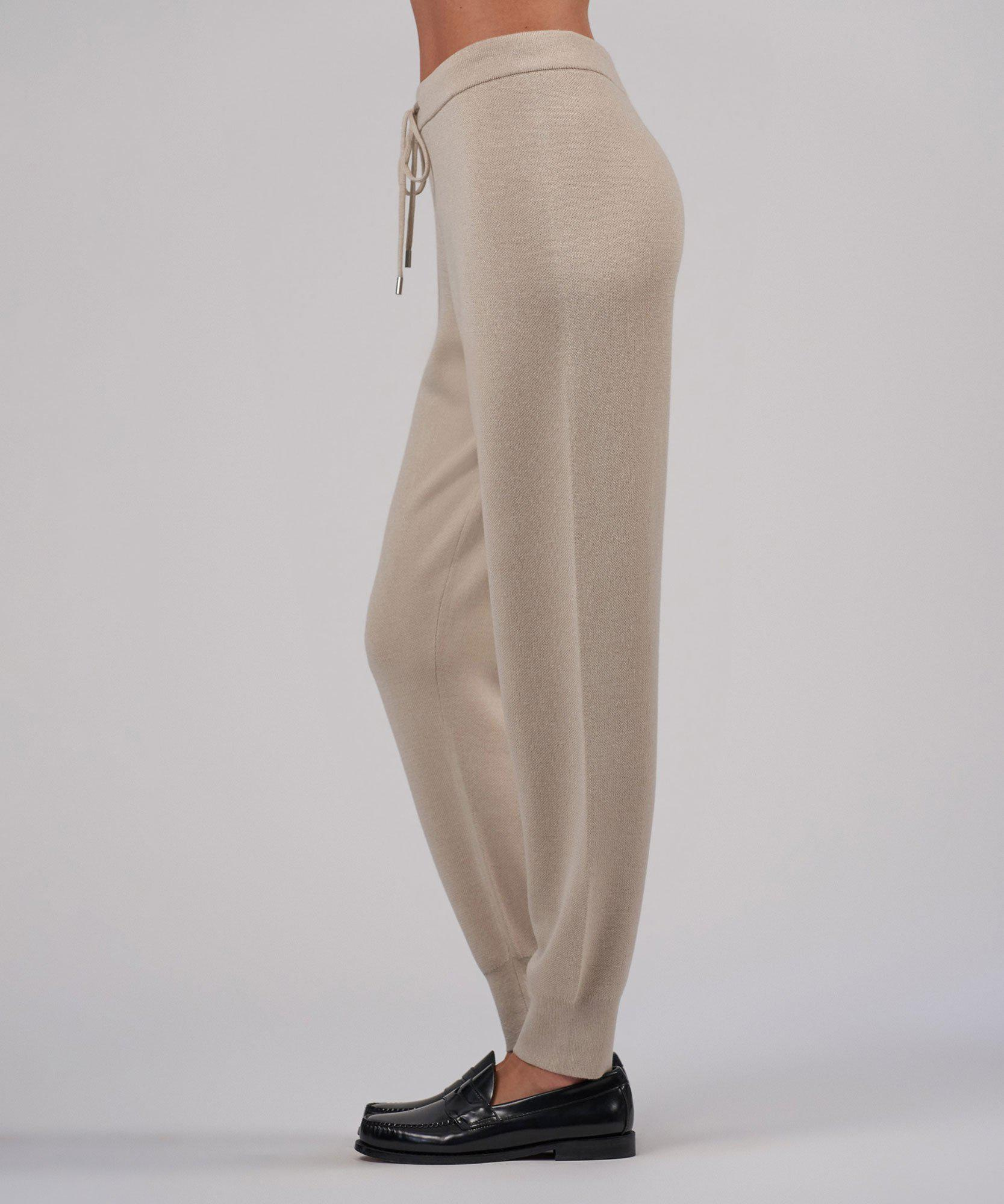 Cashmere Silk Pull-On Pant - Canvas 1