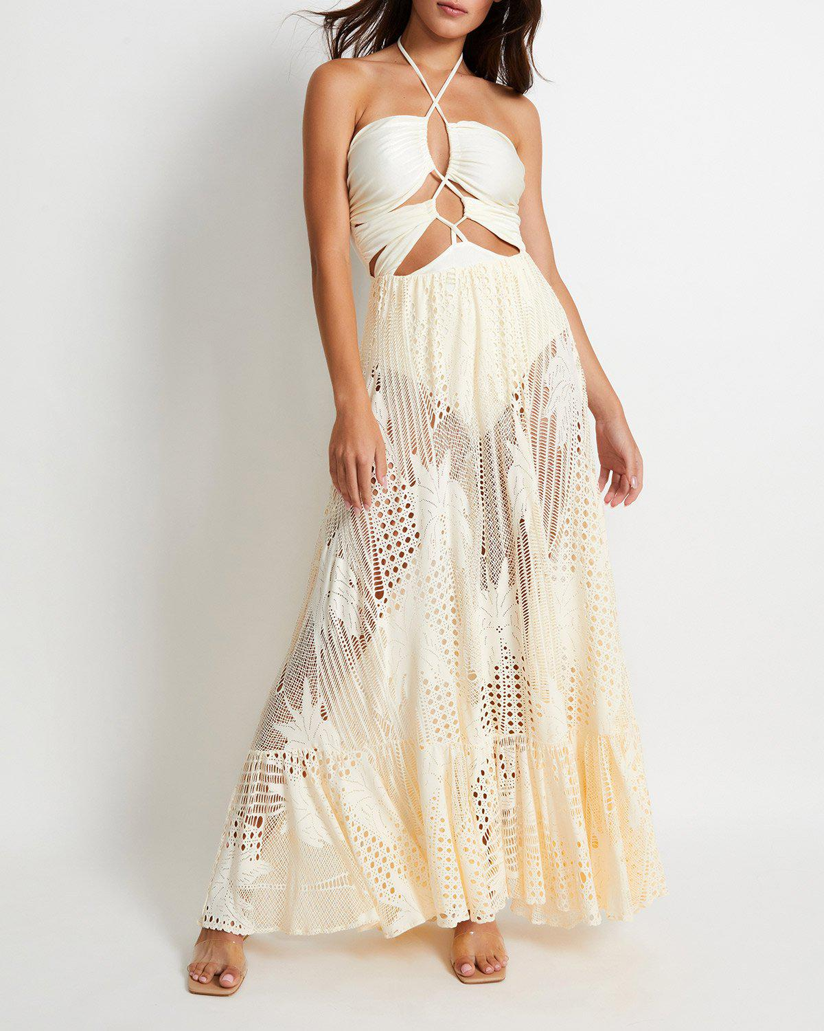 Laceup Beach Dress (ONLINE EXCLUSIVE)