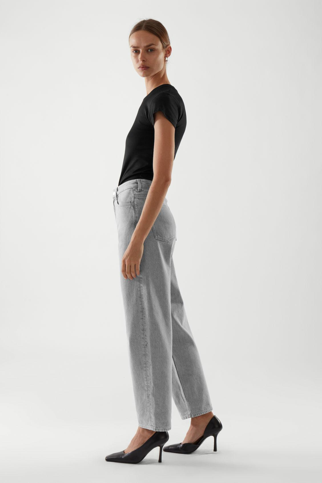 TAPERED HIGH-RISE JEANS 3