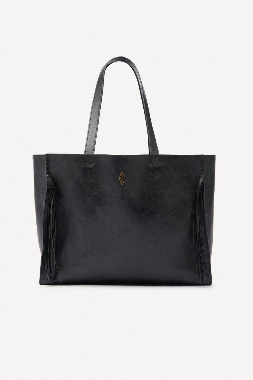 teddy.LEATHER TOTE BAG