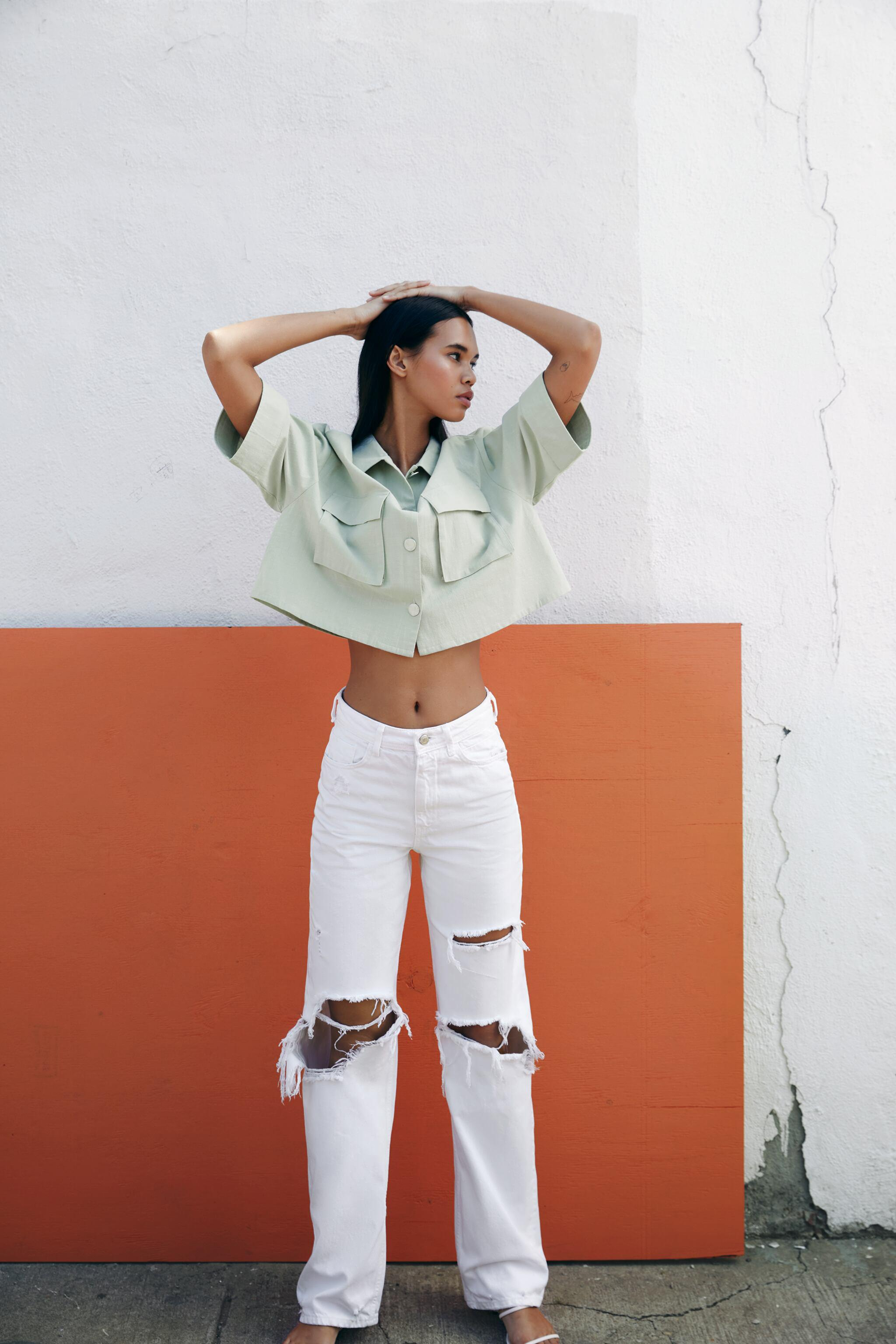 RUSTIC CROPPED SHIRT 1