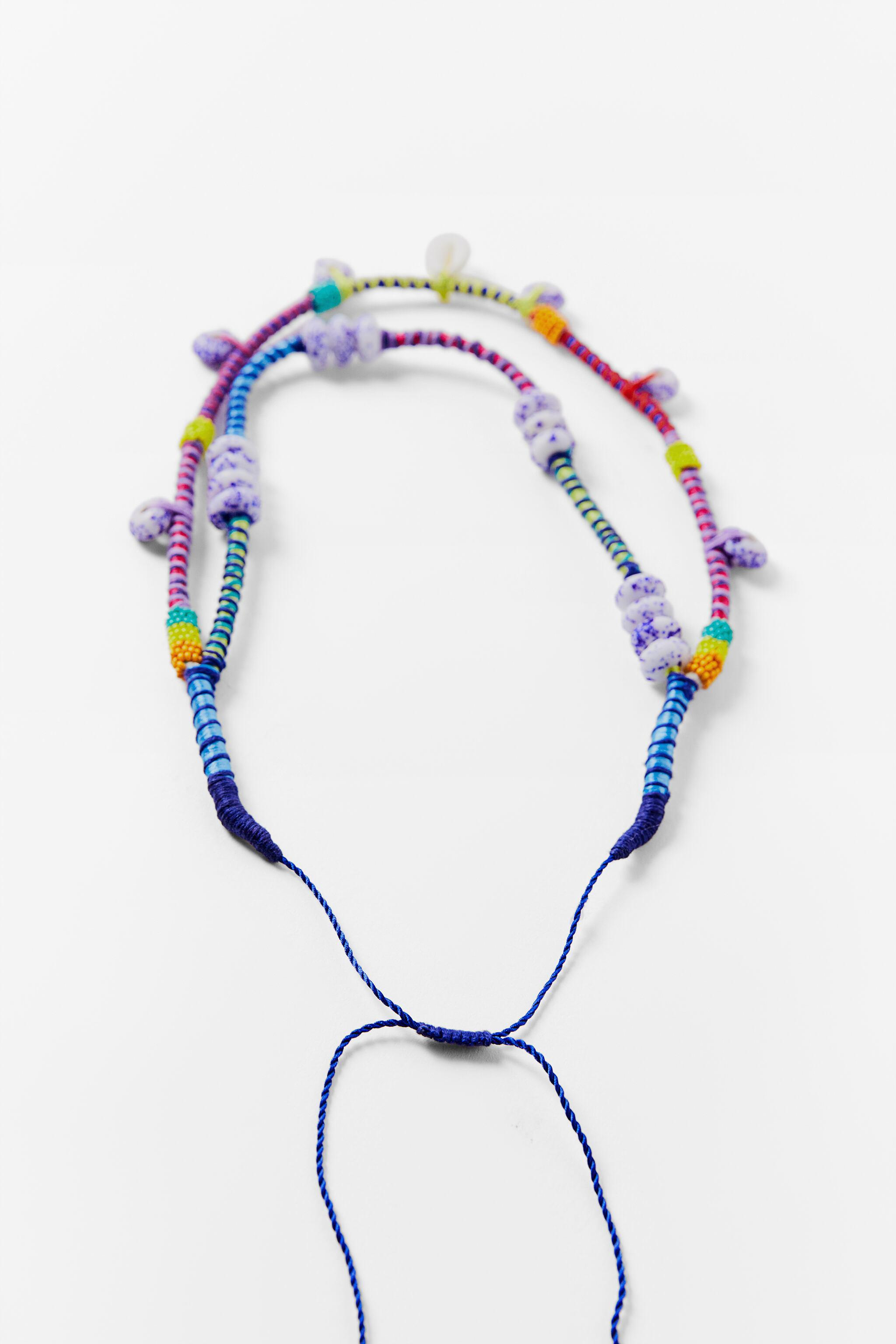 BEADED SHELL NECKLACE 2