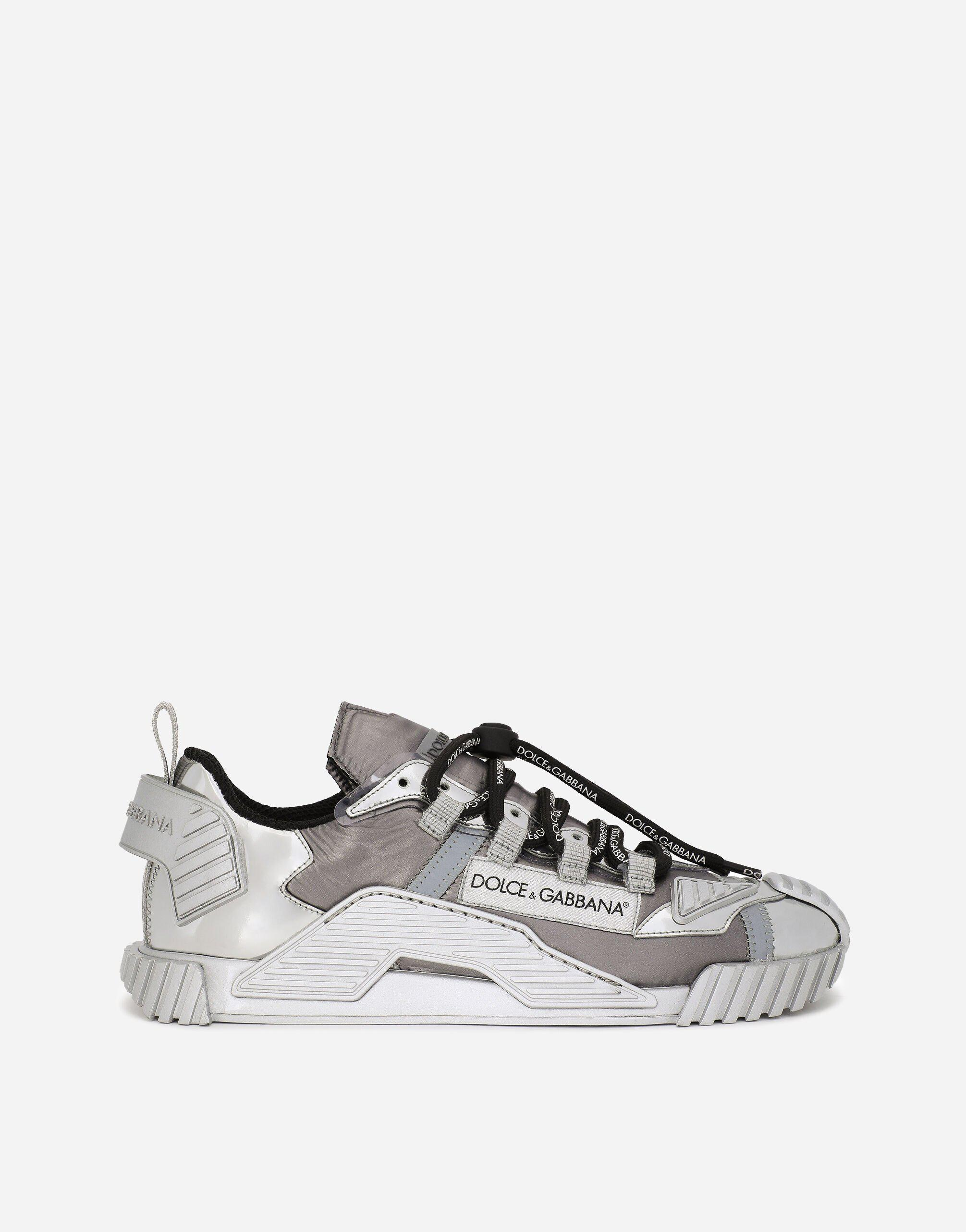 Foiled fabric NS1 sneakers