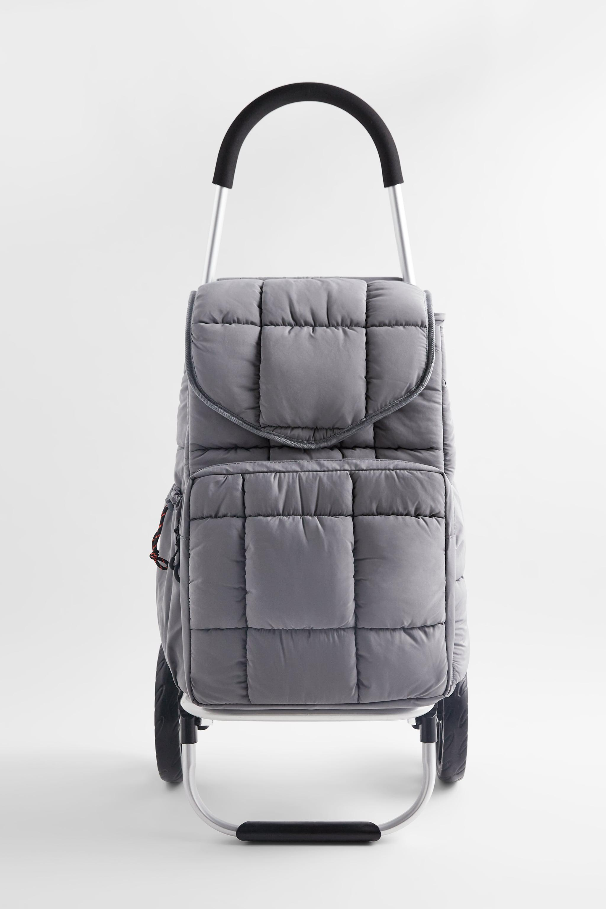 QUILTED SHOPPING CART
