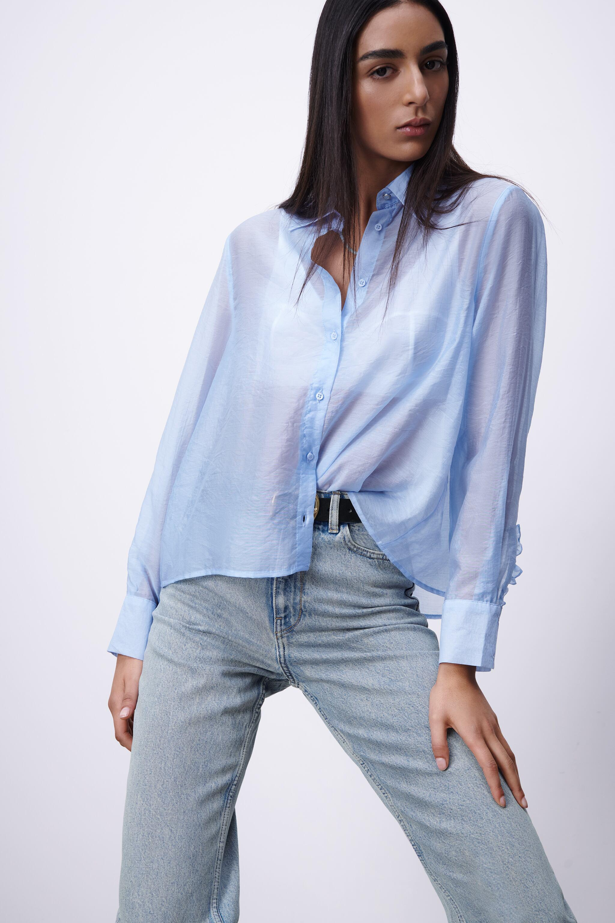 PLEATED BACK TOP 1
