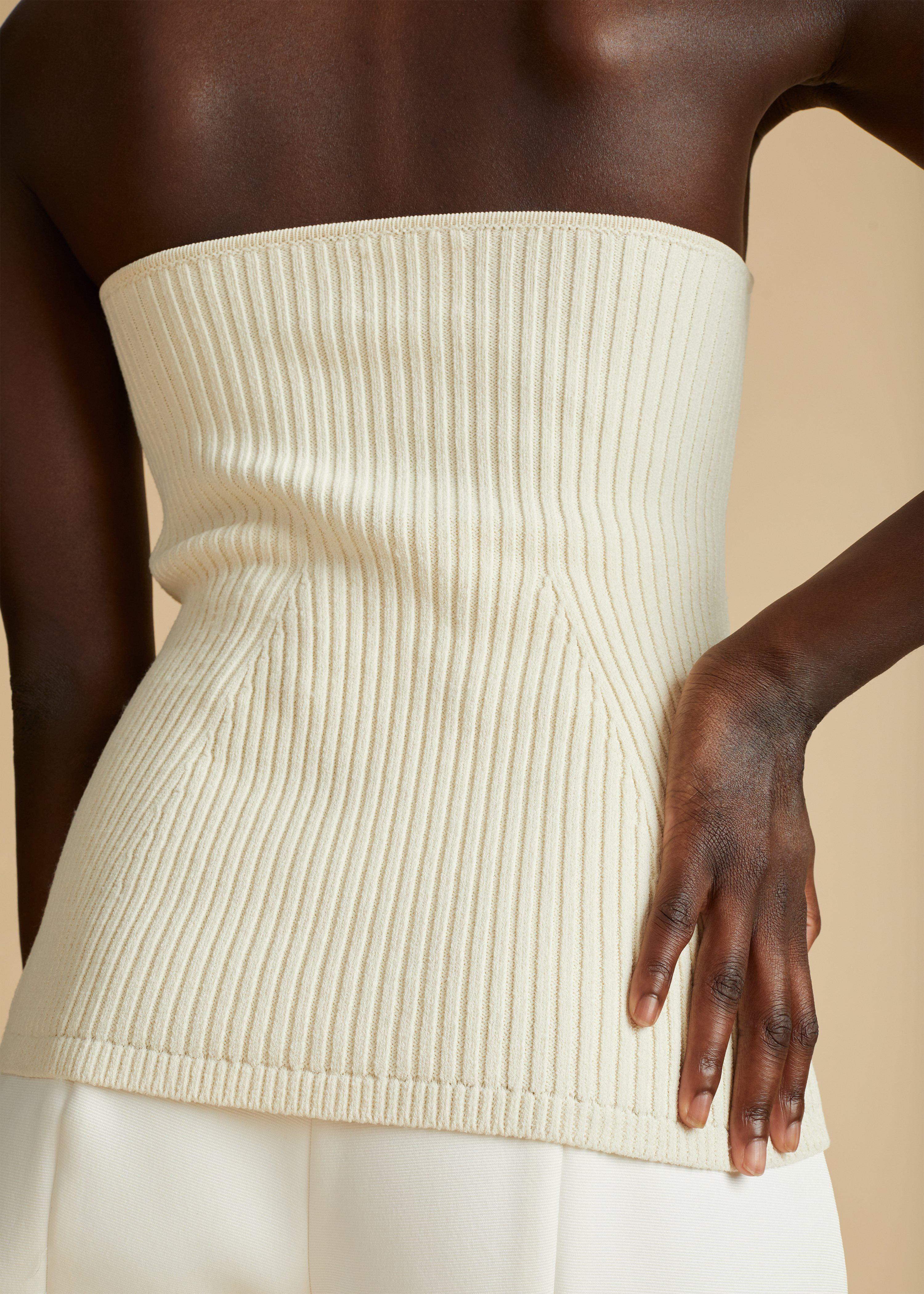 The Lucie Top in Cream 5