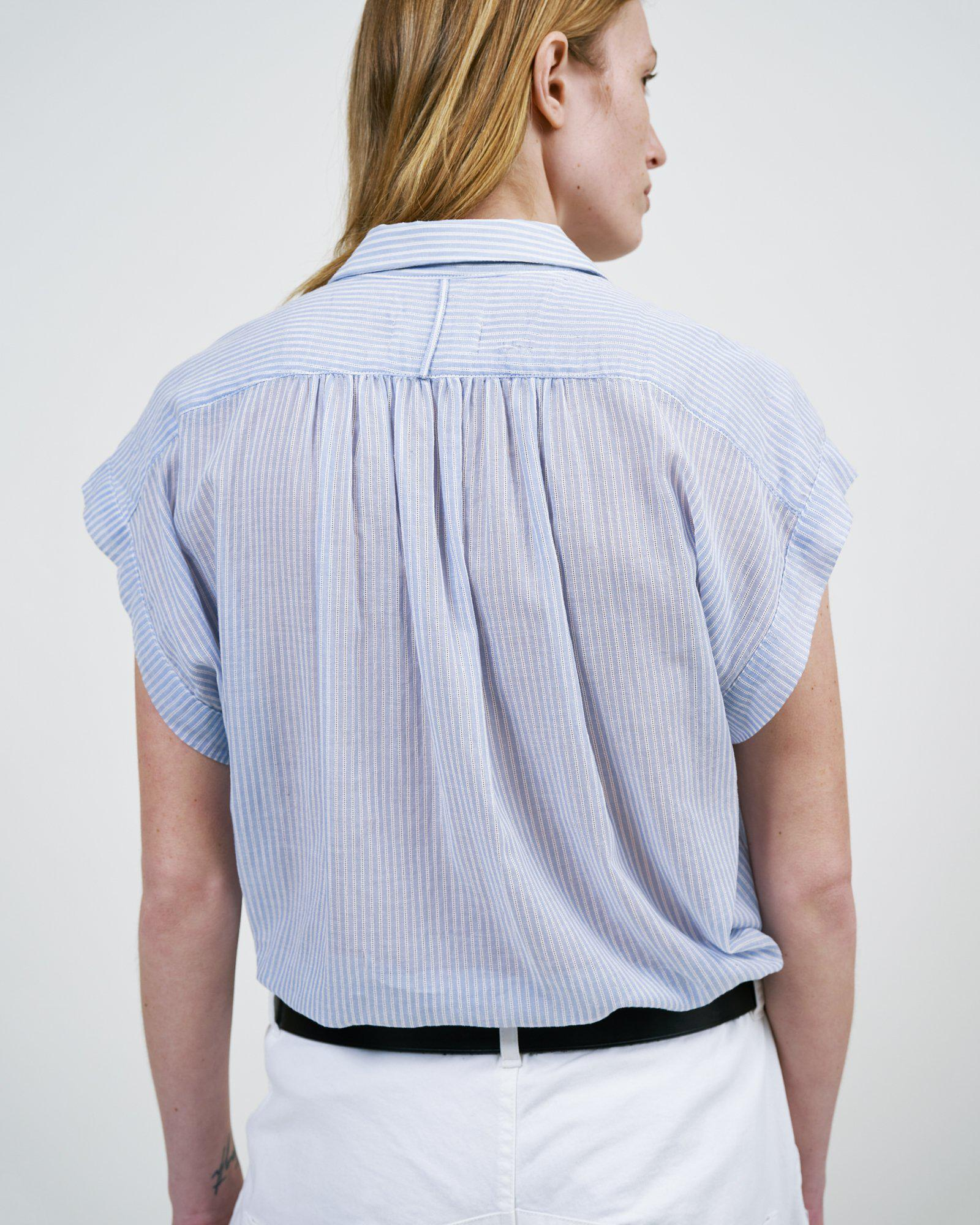 STRIPED NORMANDY BLOUSE 3
