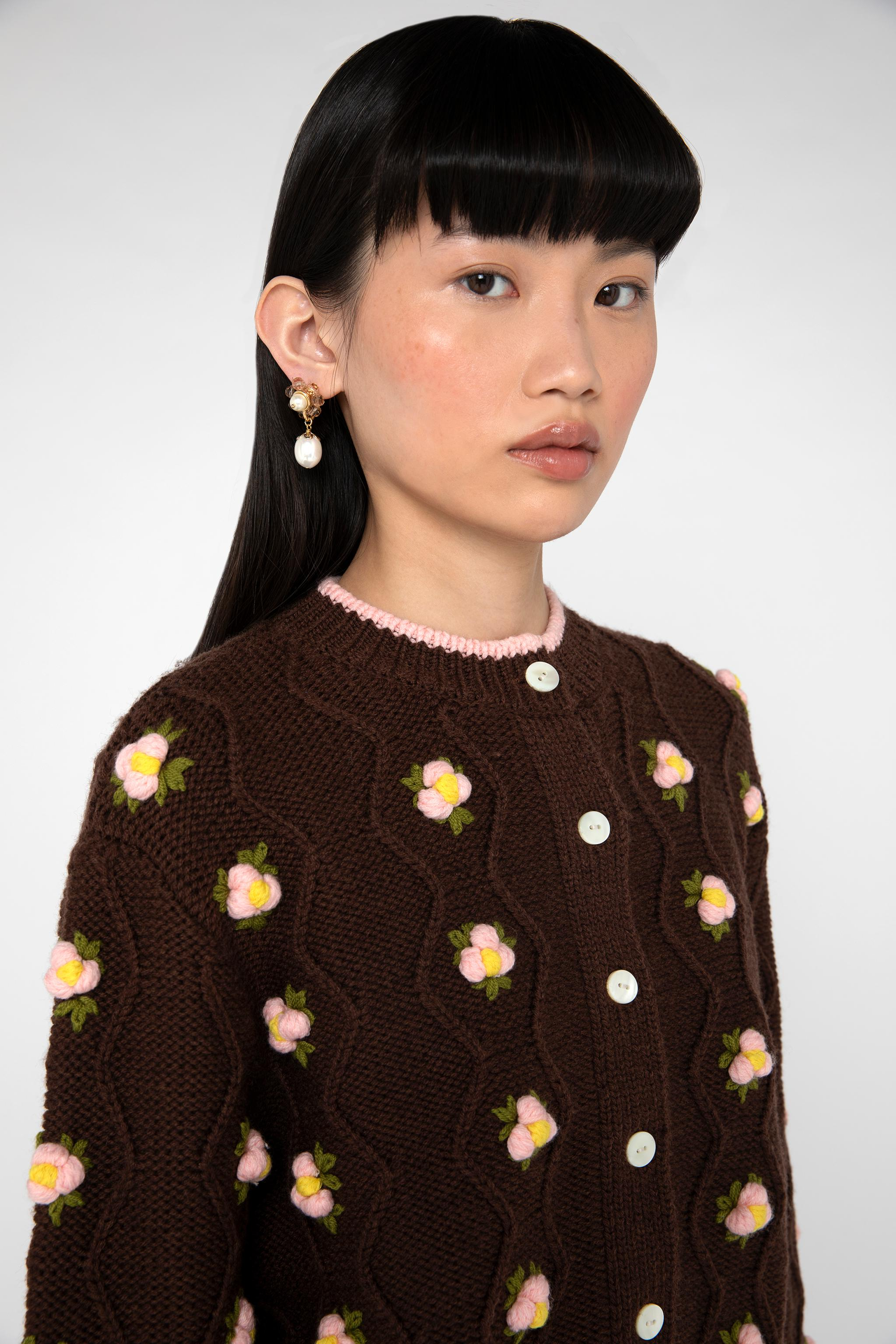 Chester Cardigan - Brown 4