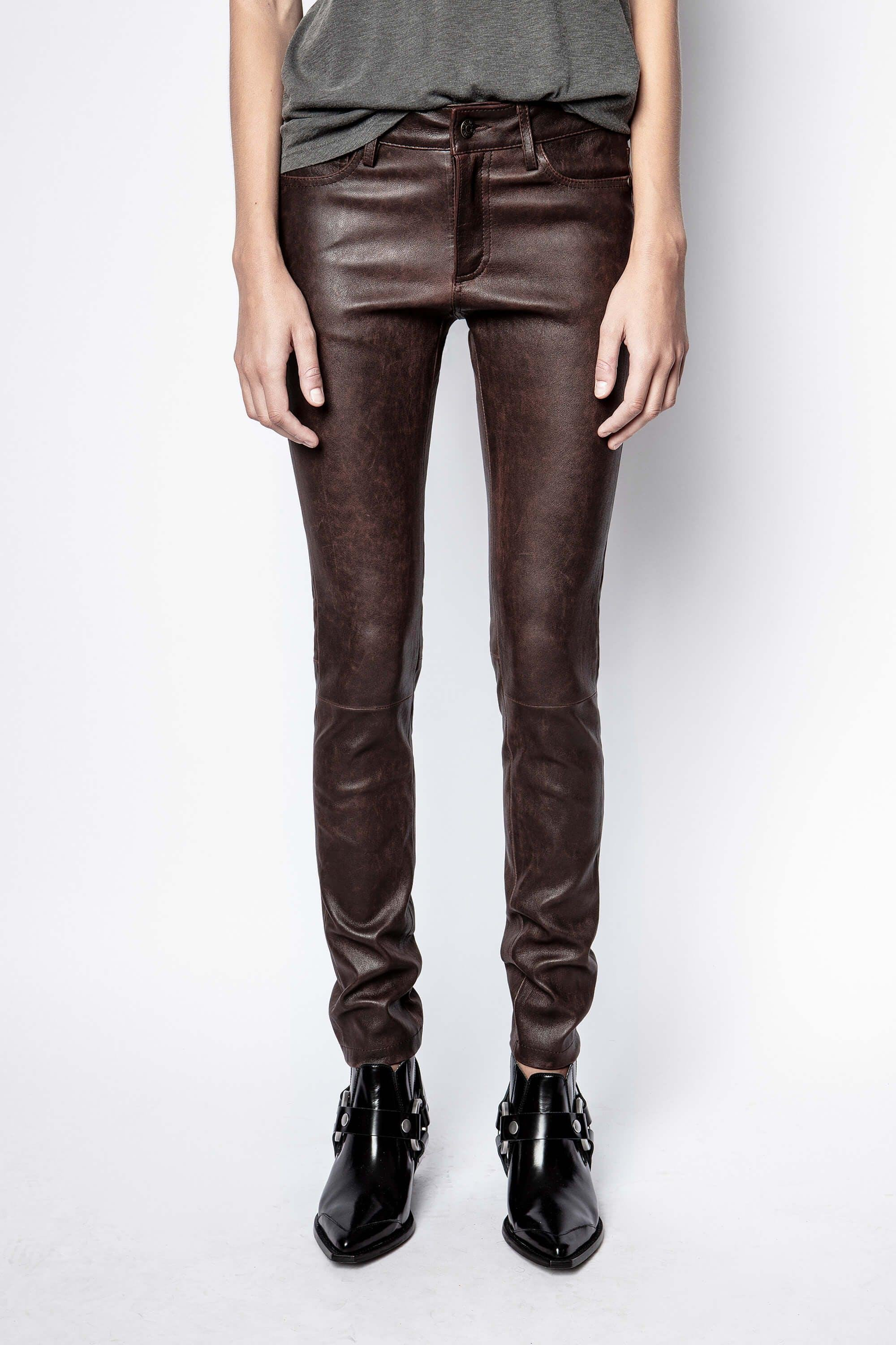 Phlame Leather Used Pants 1