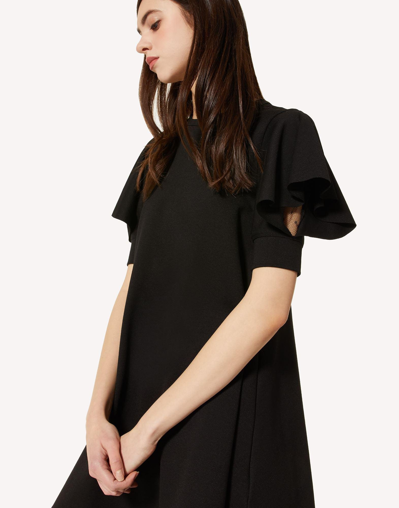 JERSEY DRESS WITH RUFFLE DETAIL 3