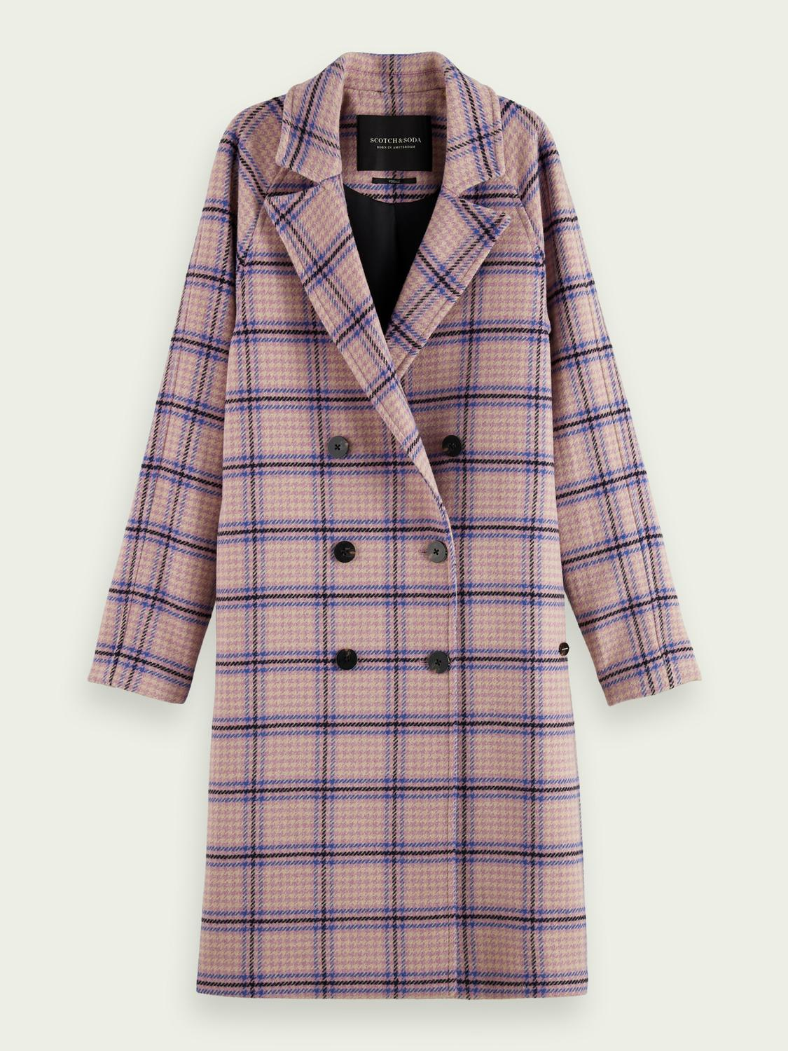 Double-breasted classic coat