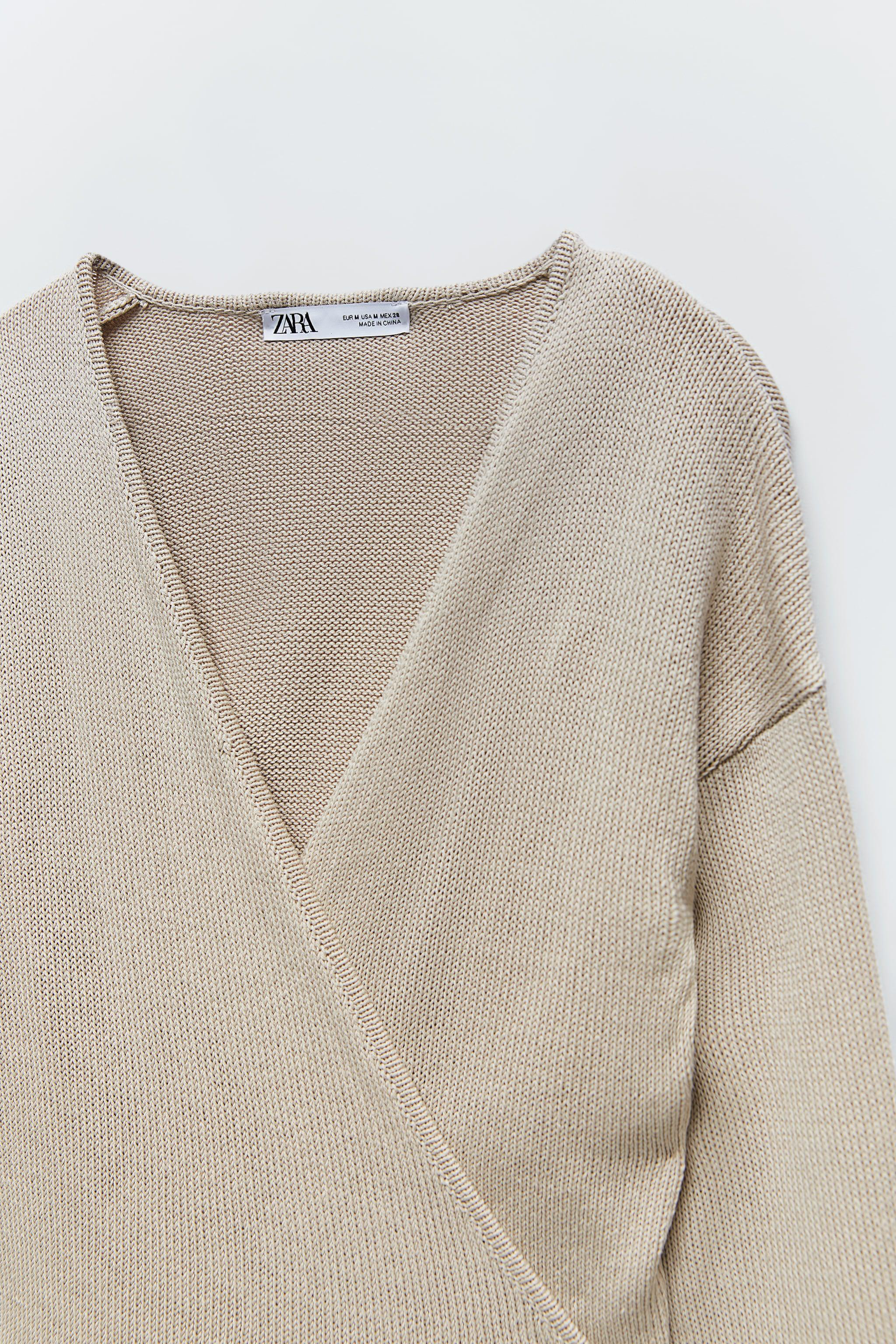 TIED KNIT SWEATER 6