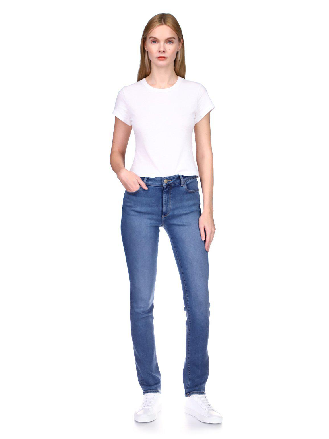 """Coco Straight Mid Rise Curvy 31"""" 