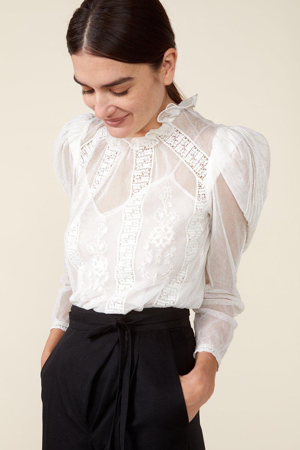 TOMI TOP - IVORY