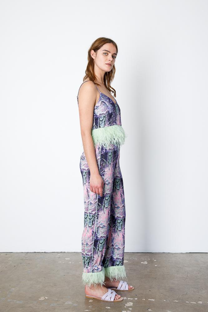 Minted Feather Cami 3