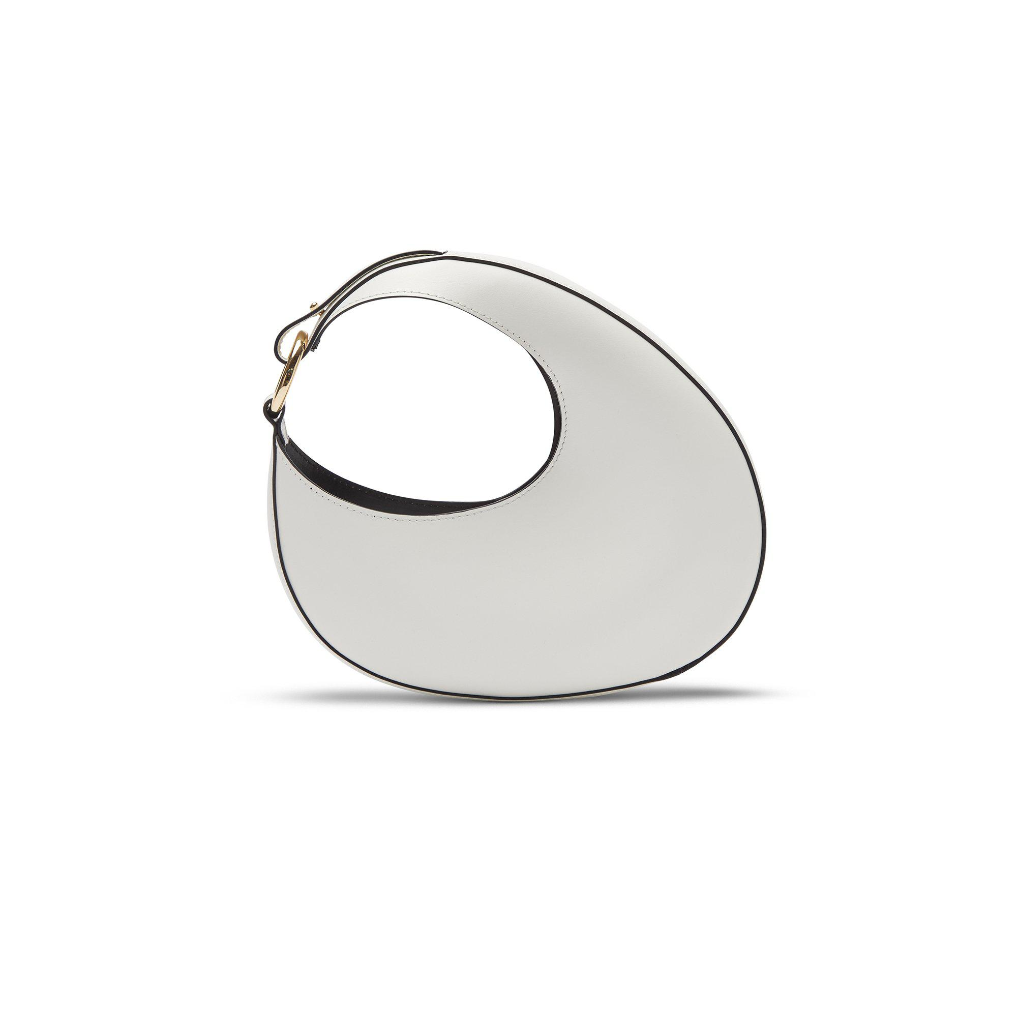 Ostra Micro Off White / Gold Ring